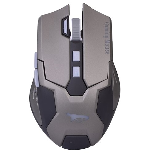 Black Cobra Gamer USB 8 Button Optical Video Gaming Performance Mouse