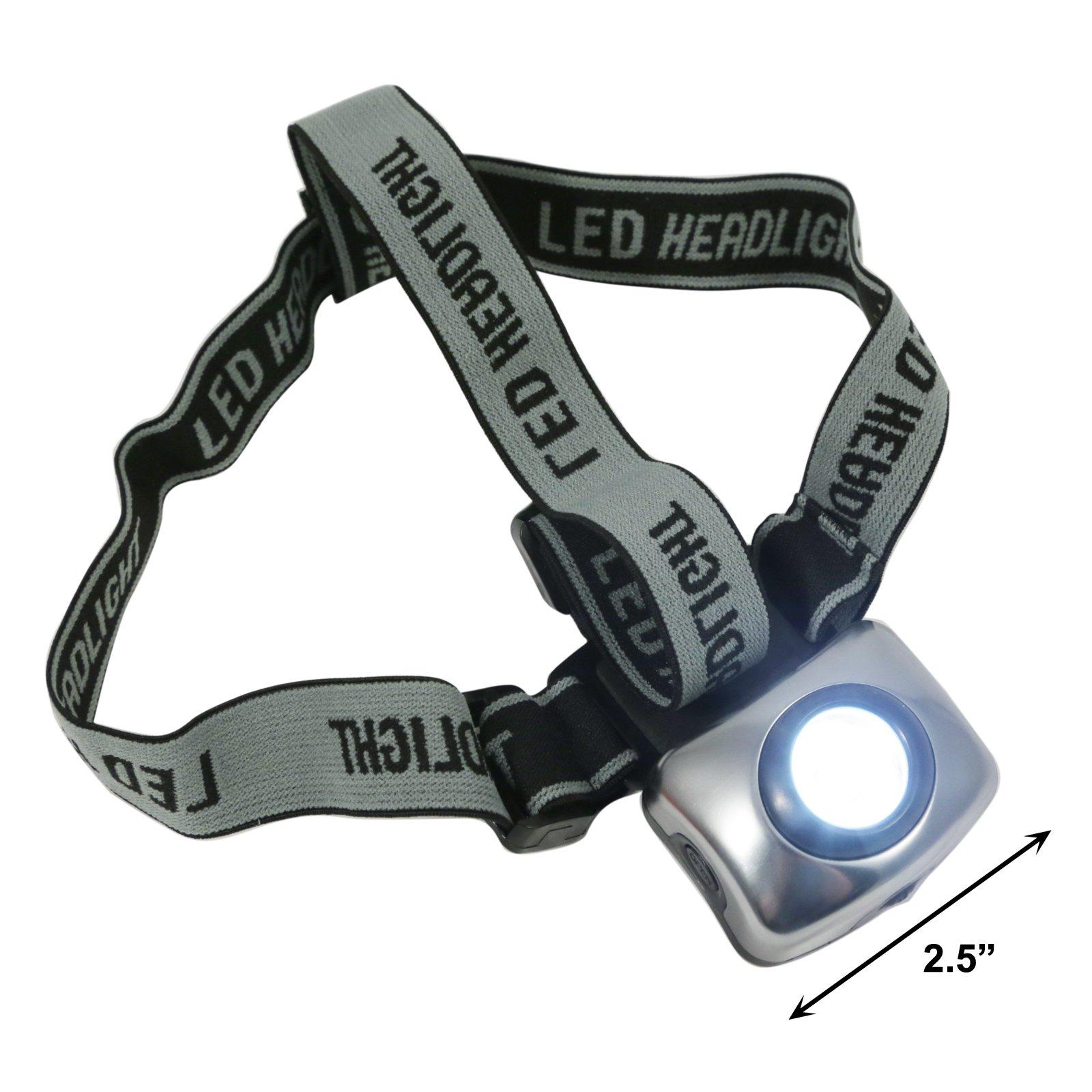 ASR Outdoor Adjustable Hiking Head Lamp 1 Watt LED