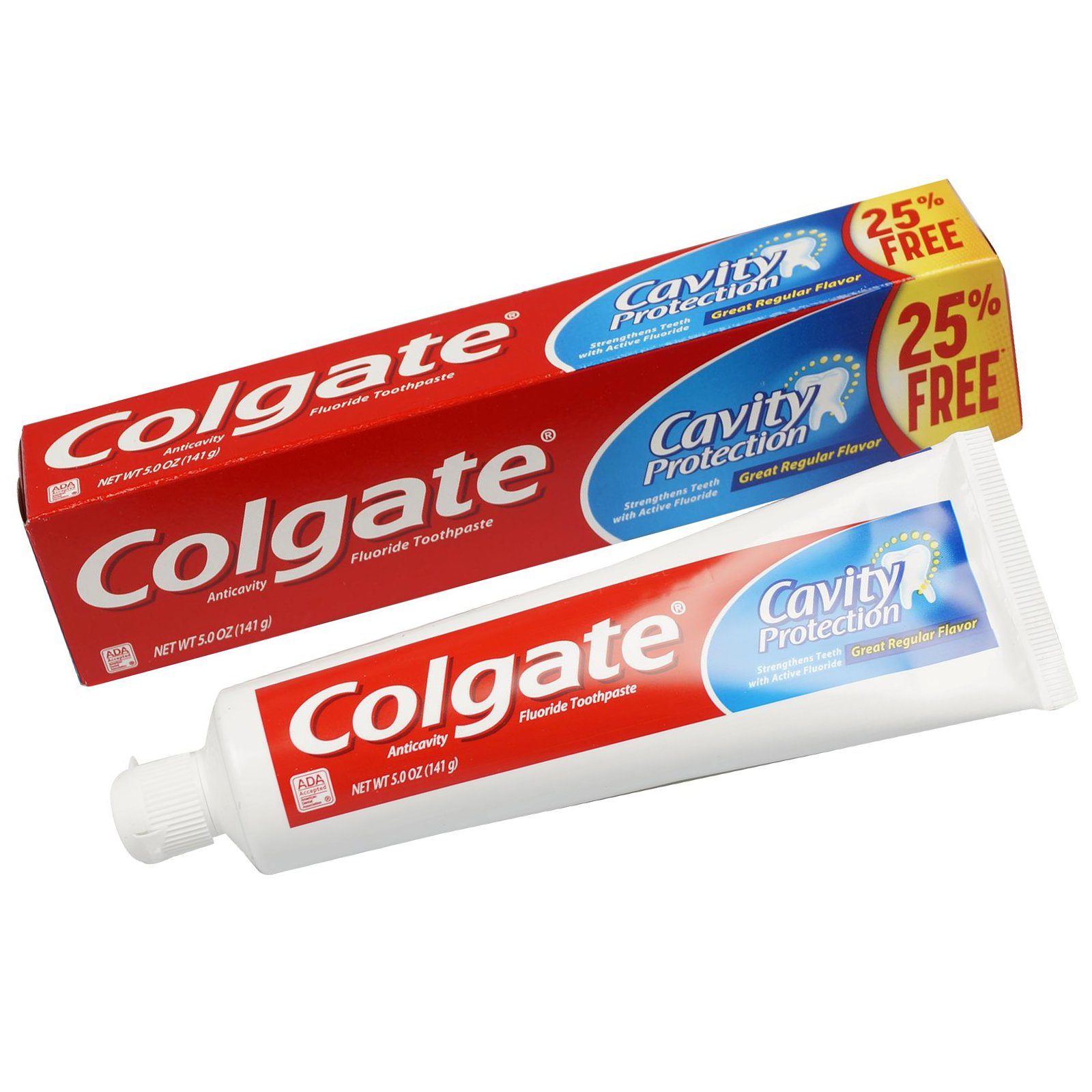 3pk Colgate Cavity Protection Fluoride Regular Flavor 5oz