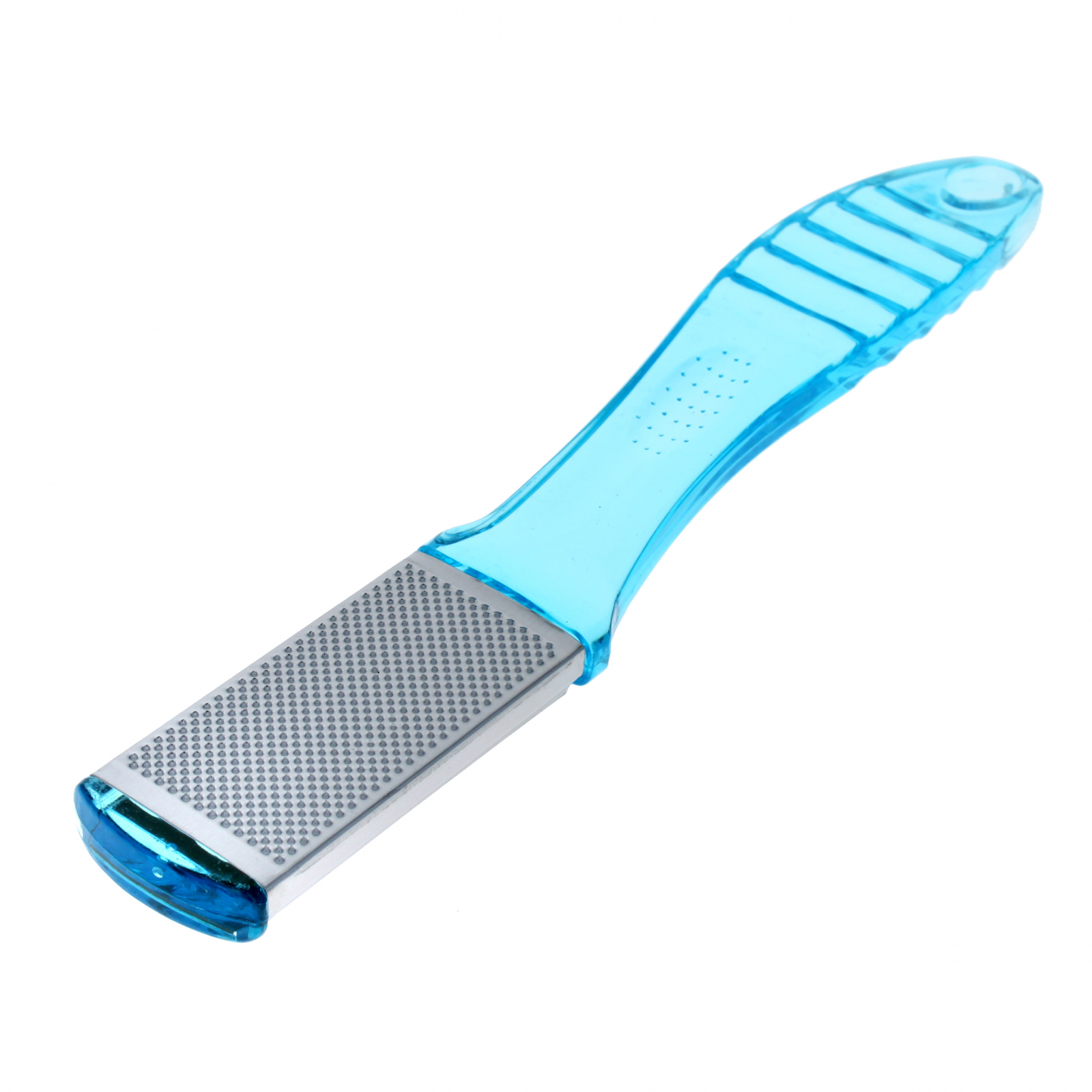 Home Essentials Manicure Pedicure Foot Scrubber File - Blue