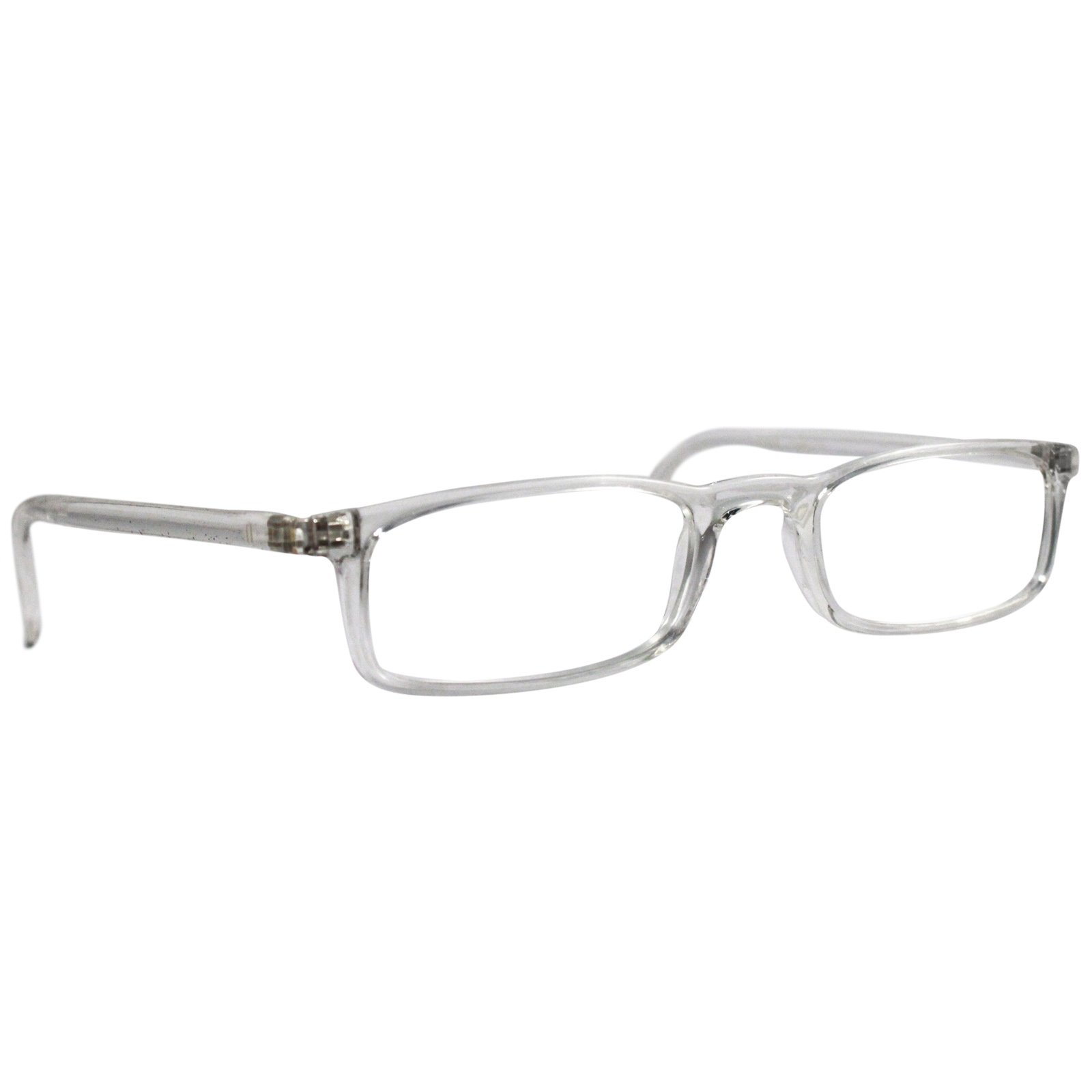 Nannini Quick 7.9 Lightweight Reader Glasses Crystal 1.0, Front View
