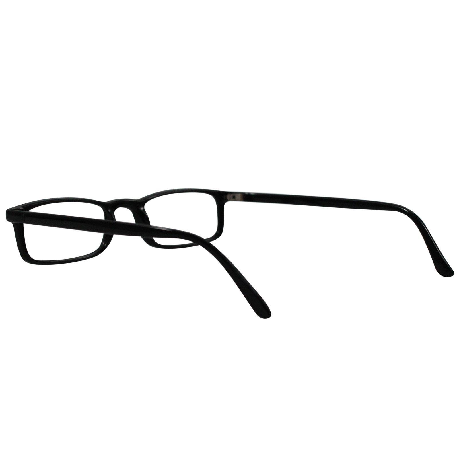 Reading Glasses Nannini Optics Vision Care Italian Fashion Readers - Black 3.0