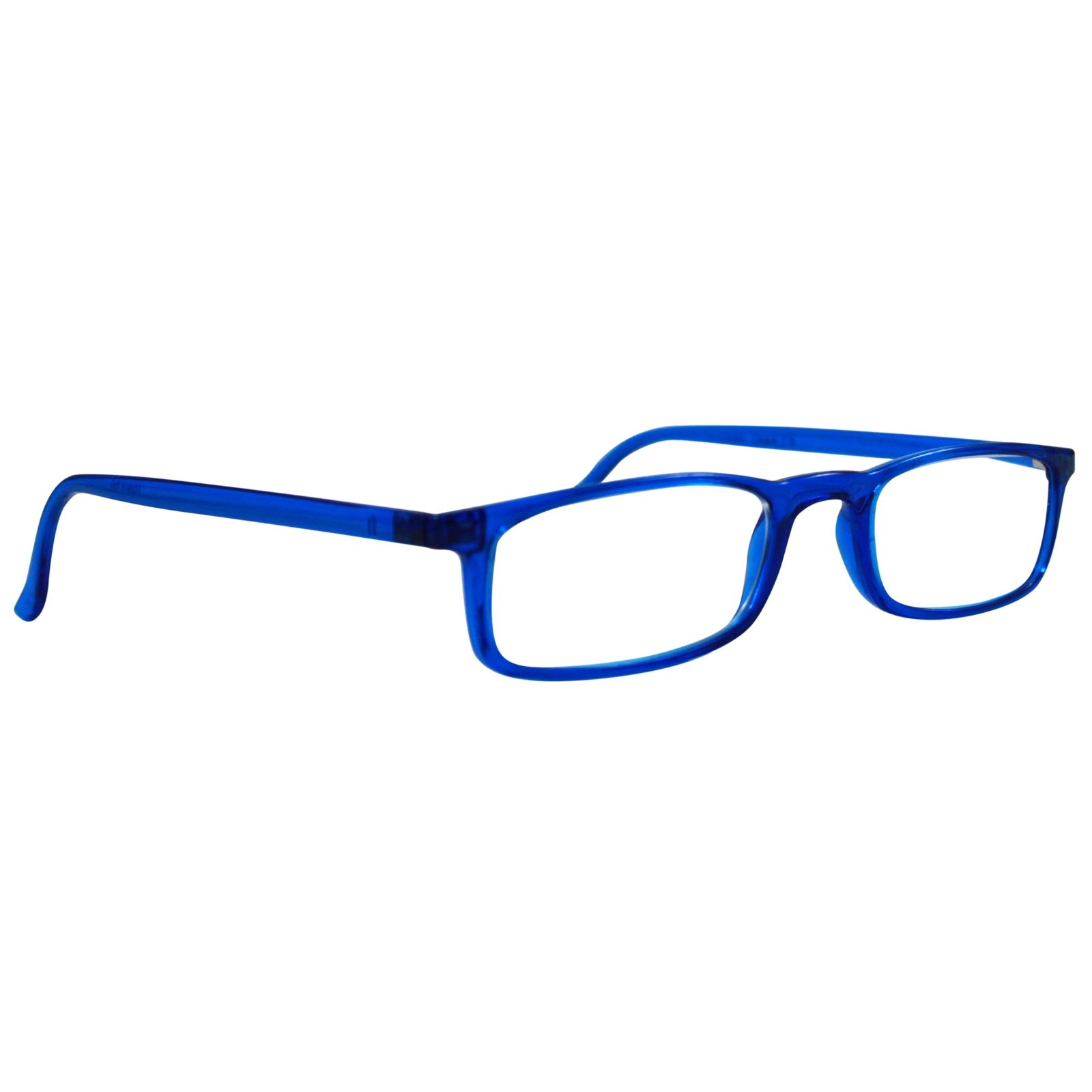 Nannini Quick 7.9 Lightweight Reader Glasses Blue 1.0, Front View