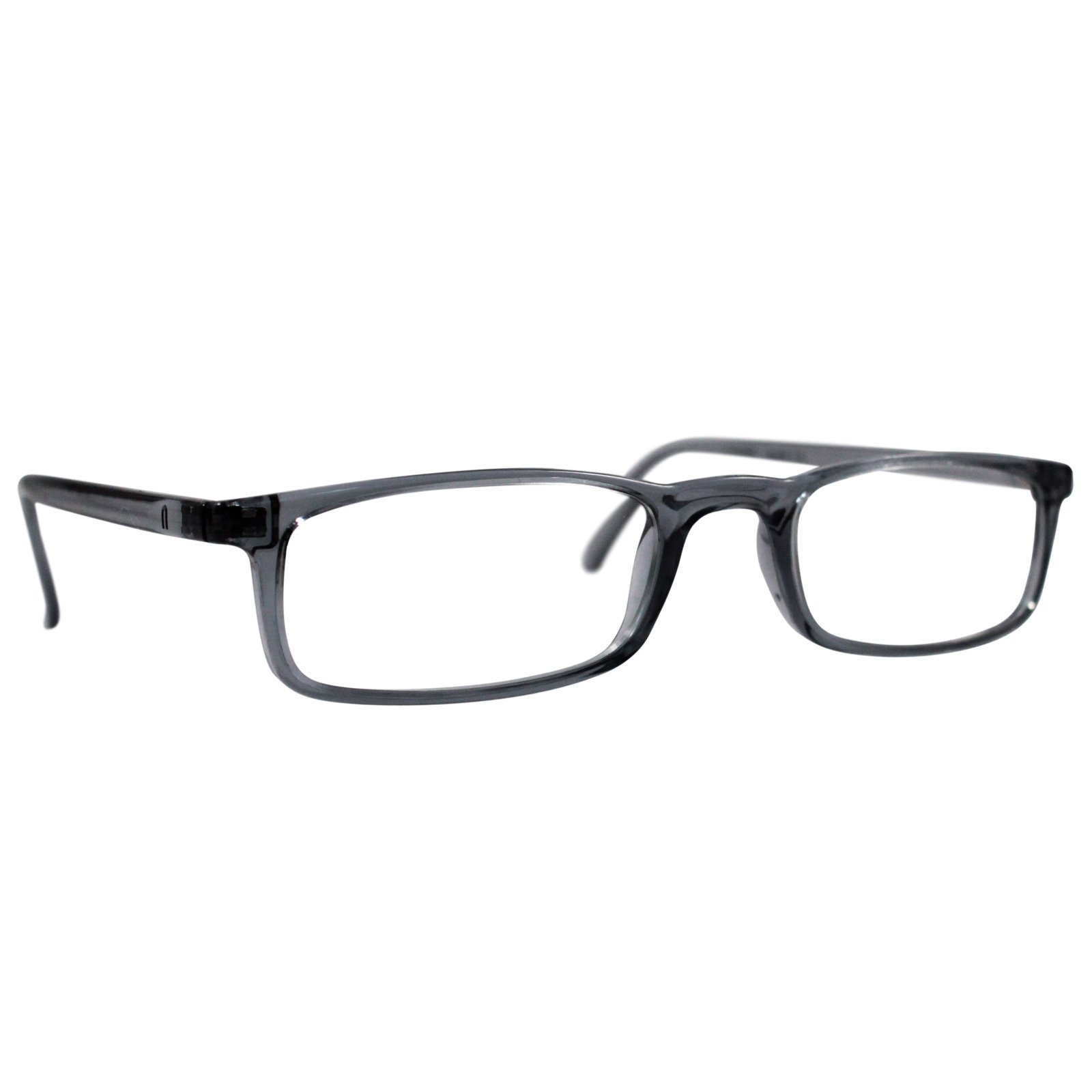 Nannini Quick 7.9 Lightweight Reader Glasses Grey 1.0, Front View