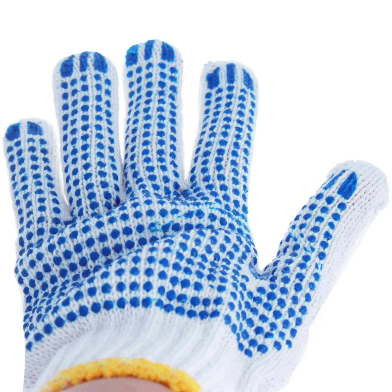 Universal - Dot Grip Non-Slip Gardening Work Gloves - Blue