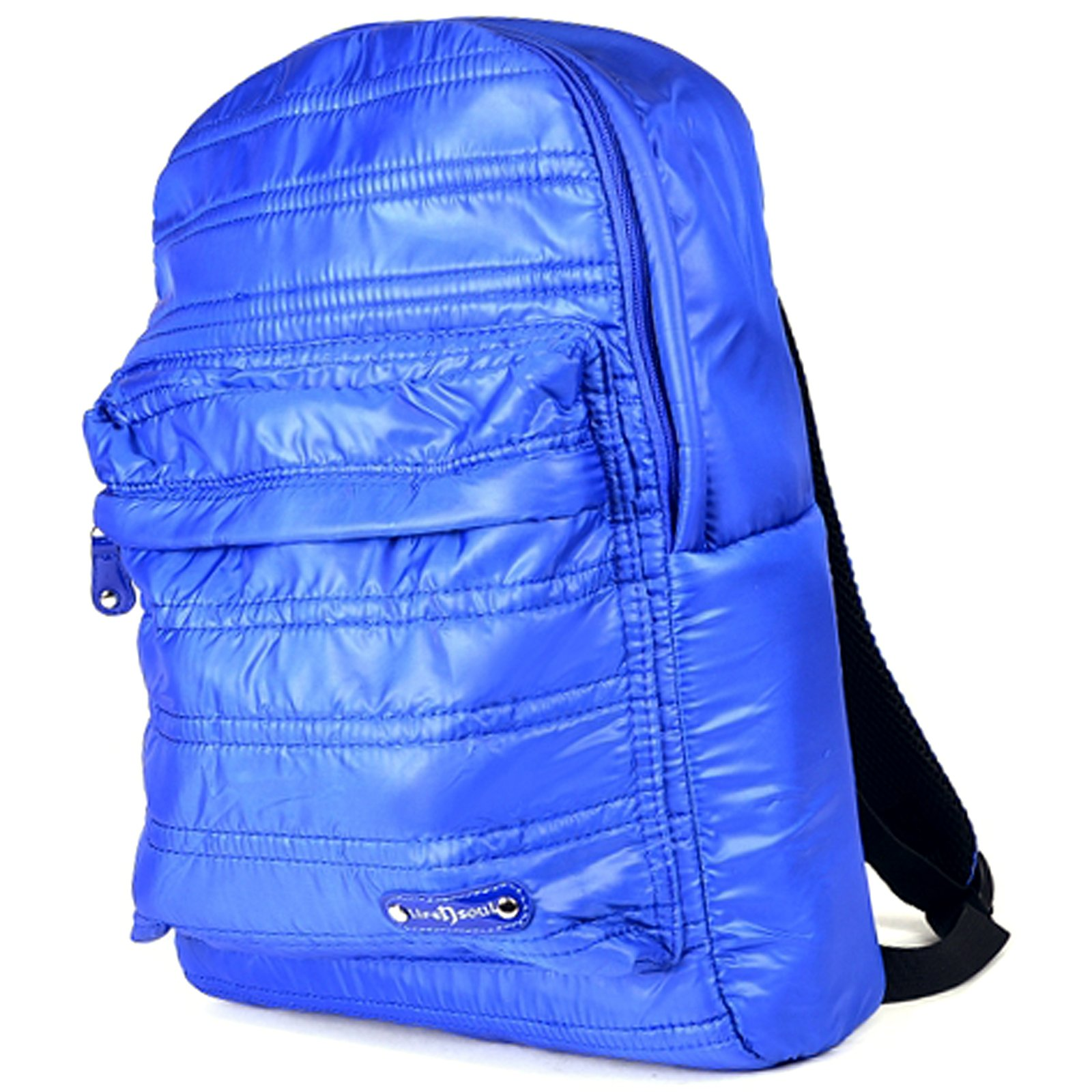 "ASR Urban Beat Blue Synthetic Down Pull Over 14"" Padded Laptop Backpack"