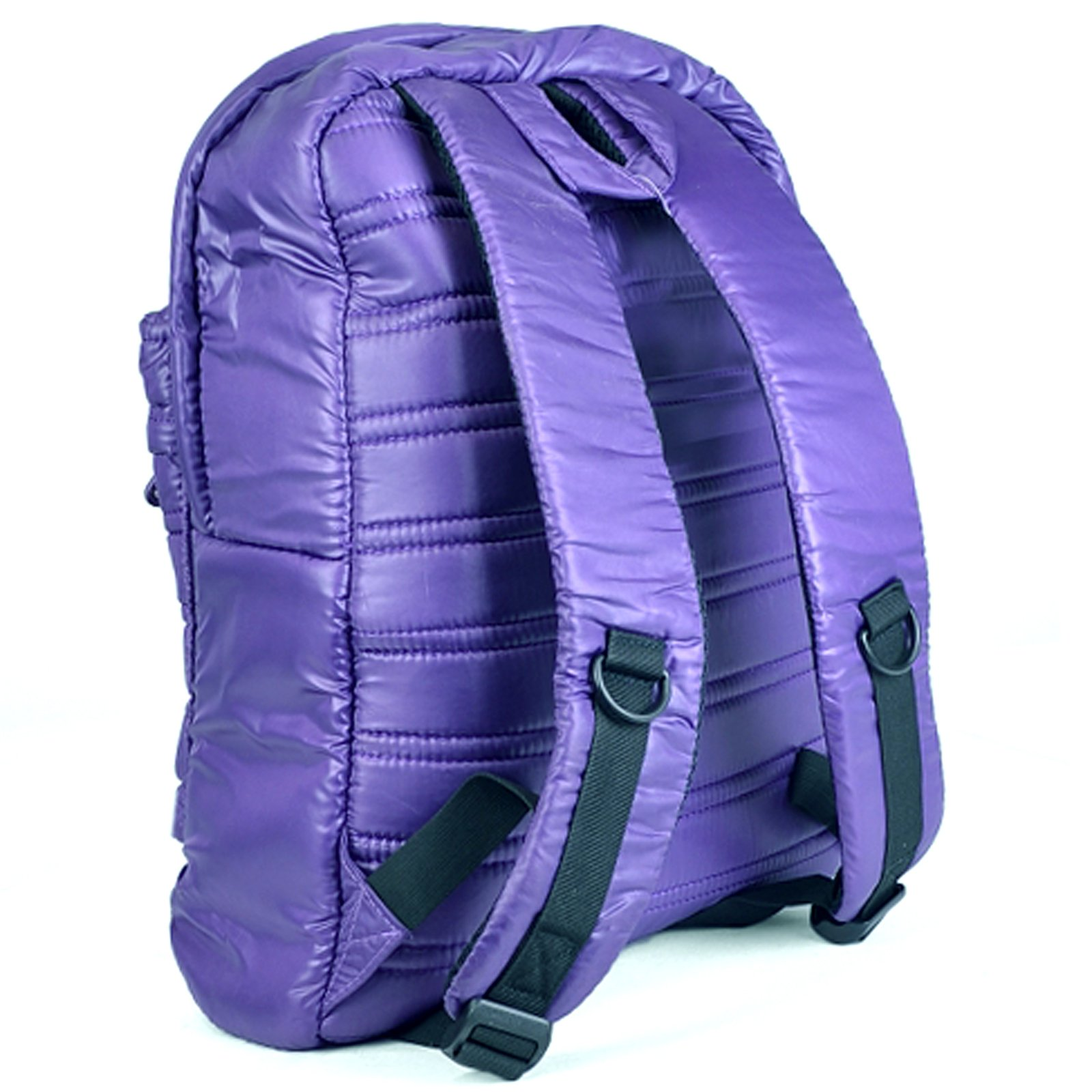 """ASR Urban Beat Purple Synthetic Down Pull Over 14"""" Padded Laptop Backpack"""