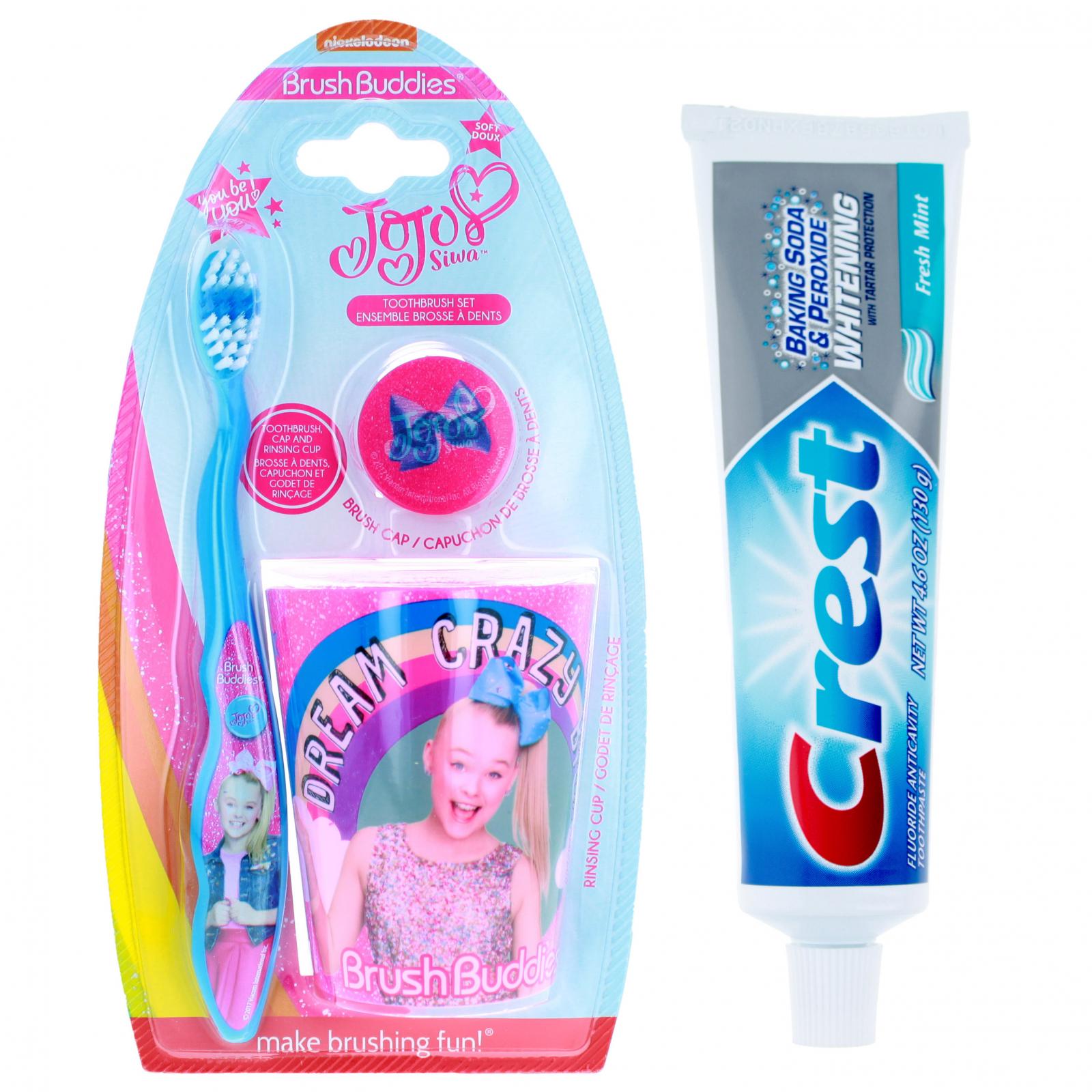 JoJo Siwa Girls Toiletries Gift Set with Toothpaste