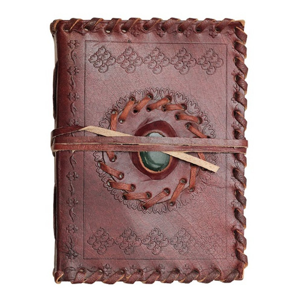 Small Leather Journal - Medieval Stone