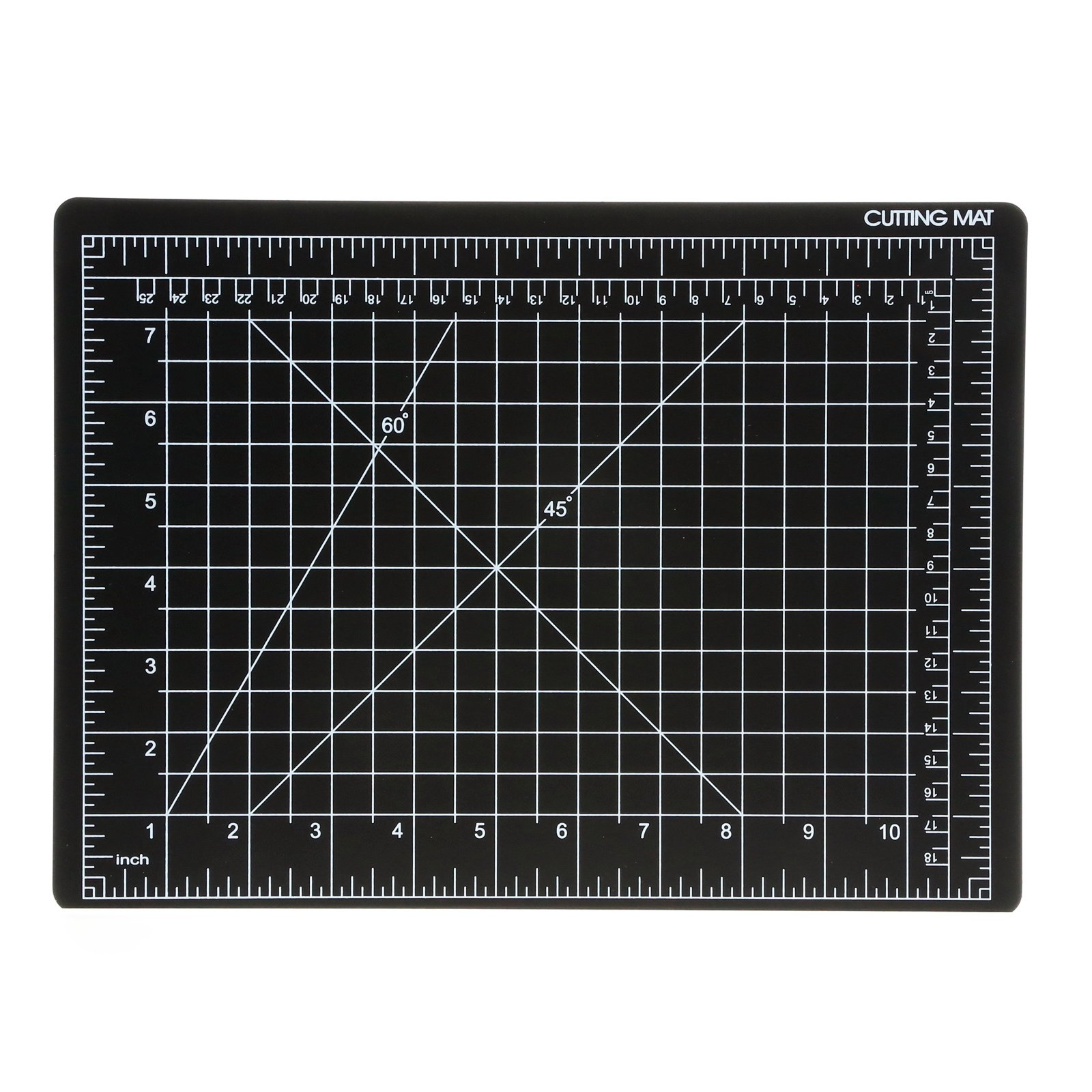 Universal Tool Self Healing Hobby Craft Black Gridded Cutting Mat 9 x 12 Inch