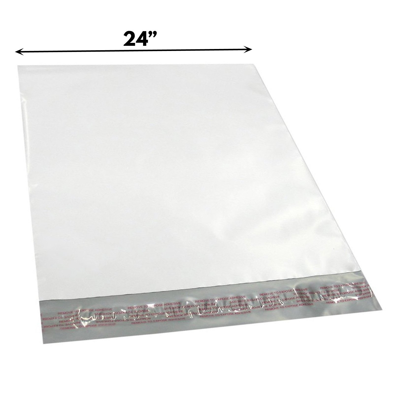 100pc Wholesale Polymailer Envelope Shipping Mailers Postal Bags 24 x 24 Inch
