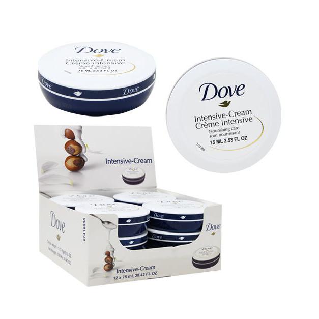 Dove Intensive Cream 2.53 Fluid OZ Skin Care