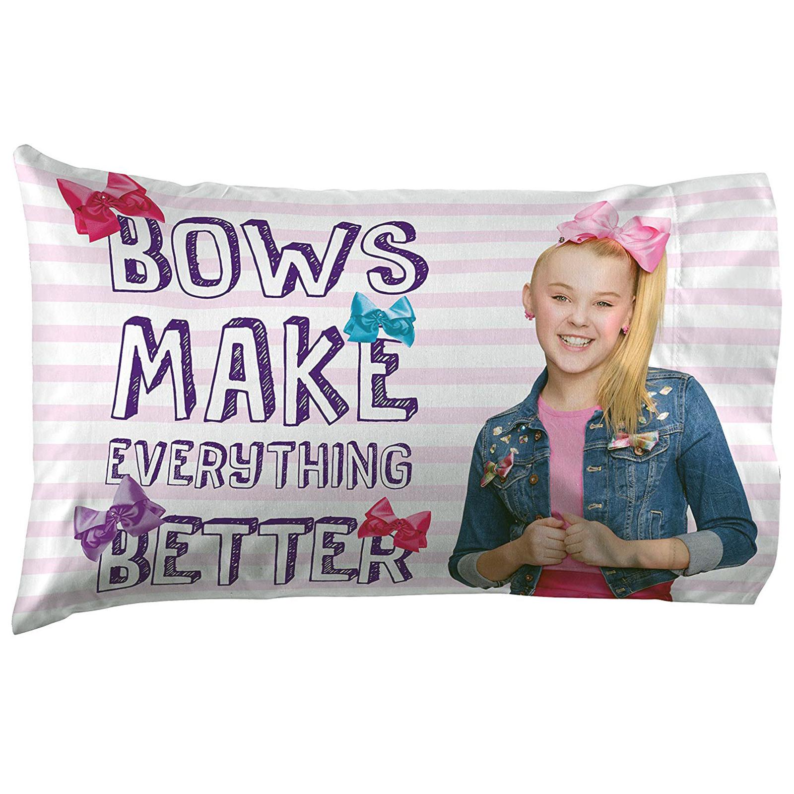 JoJo Siwa Girls Twin Size Sheet Set with Pillow Case