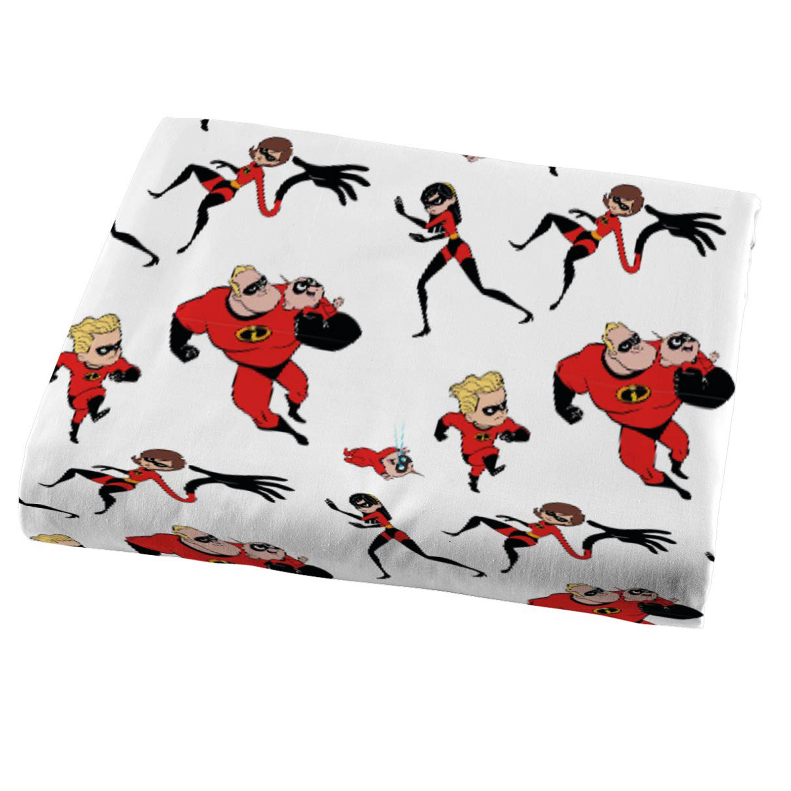 Disney Pixar Incredibles 2 Kids Microfiber Twin Sheet Set Home Bedding 3 Pieces