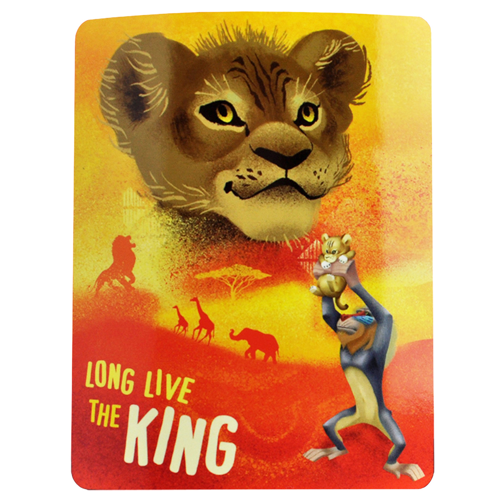 The Lion King Fleece Throw Blanket 45 x 60 Inch Kids Decor