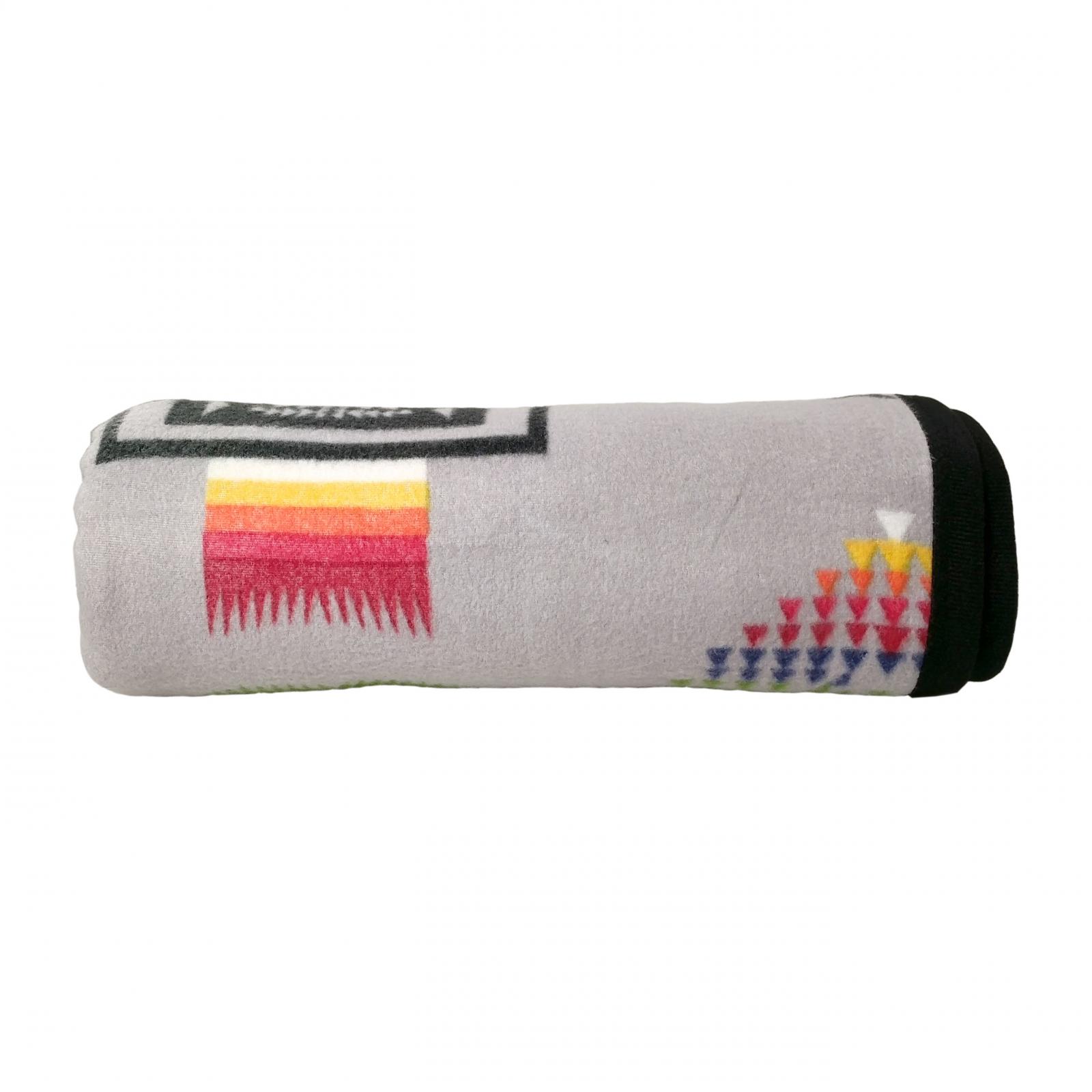 ASR Outdoor Southwest Style Soft Fleece Blanket - Grey