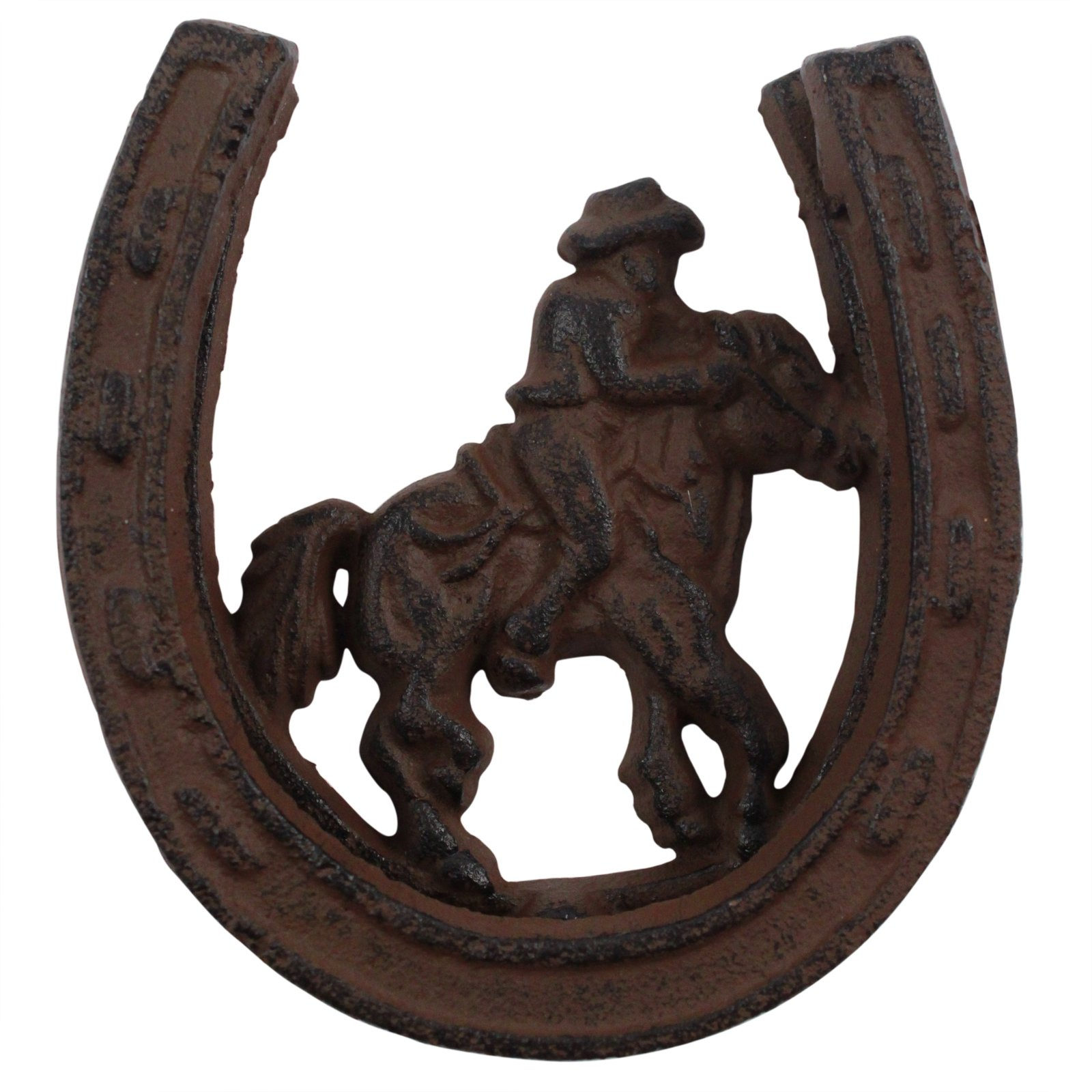 Bon Cowboy Horseshoe Western Theme Door Knocker