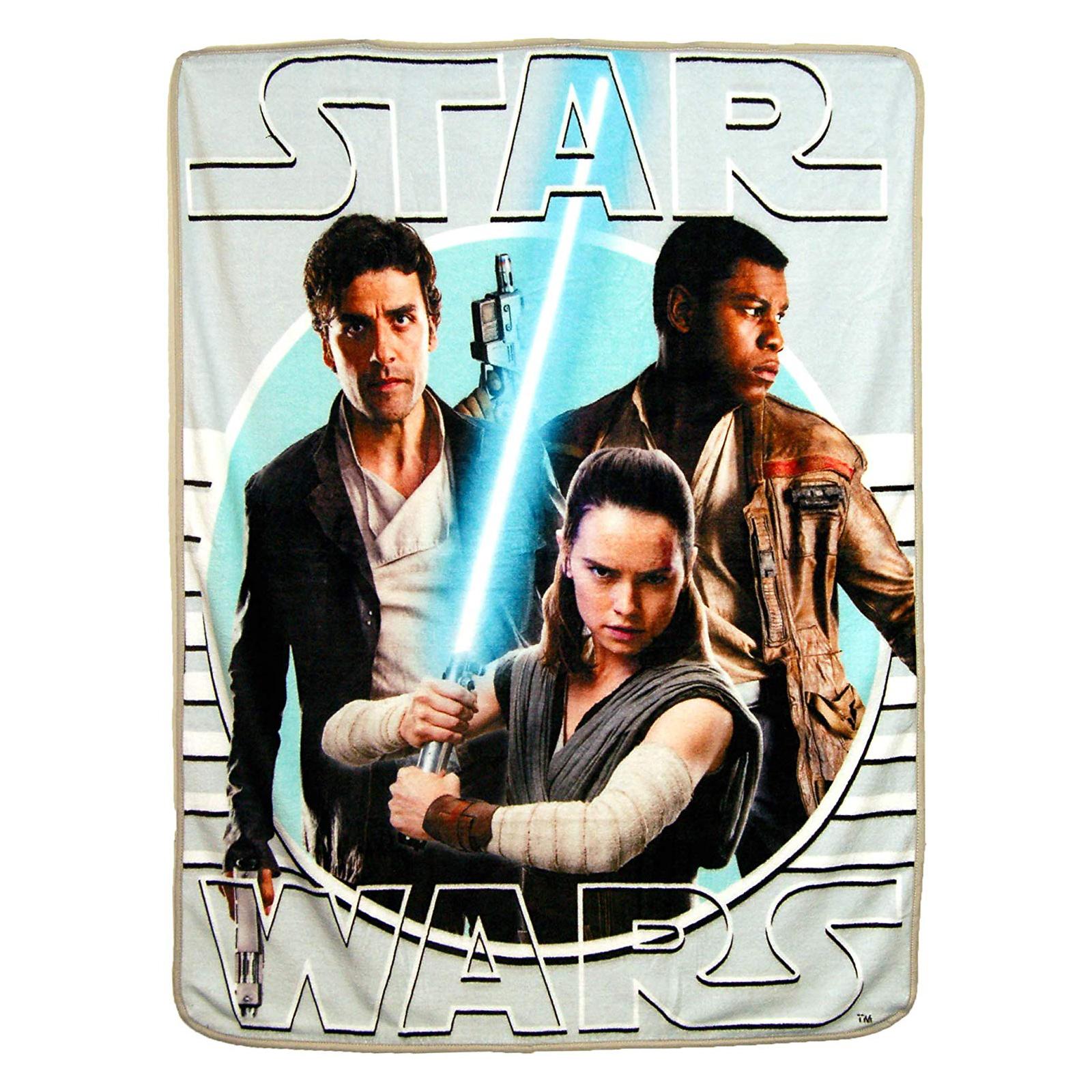 Star Wars New Resistance Soft Throw Blanket 46 x 60 Inch