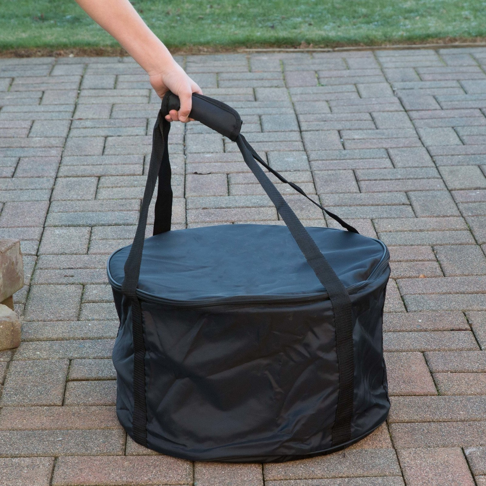 Heininger Destination Gear Carry Bag for Portable Fire Pit and Propane Tank Hose