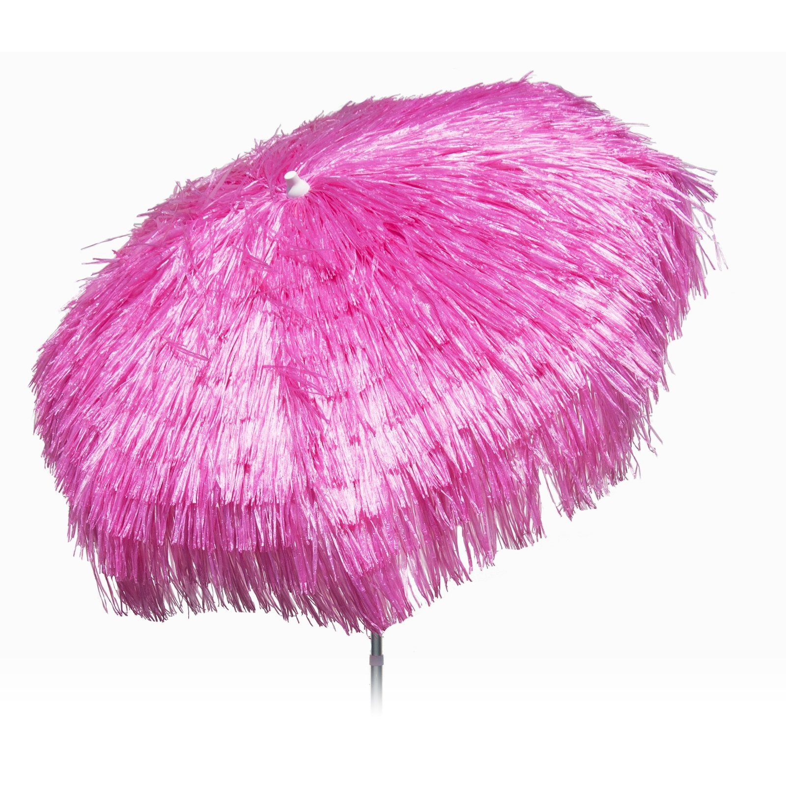 Palapa Tiki Fuchsia Push/Tilt Umbrella 6 foot - Patio Pole
