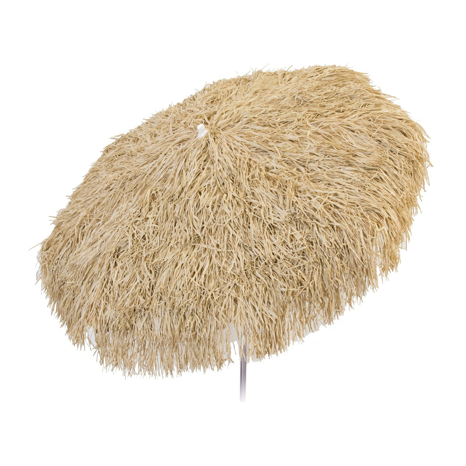 Palapa Tiki Push/Tilt Umbrella 6 foot - Brown Patio Pole