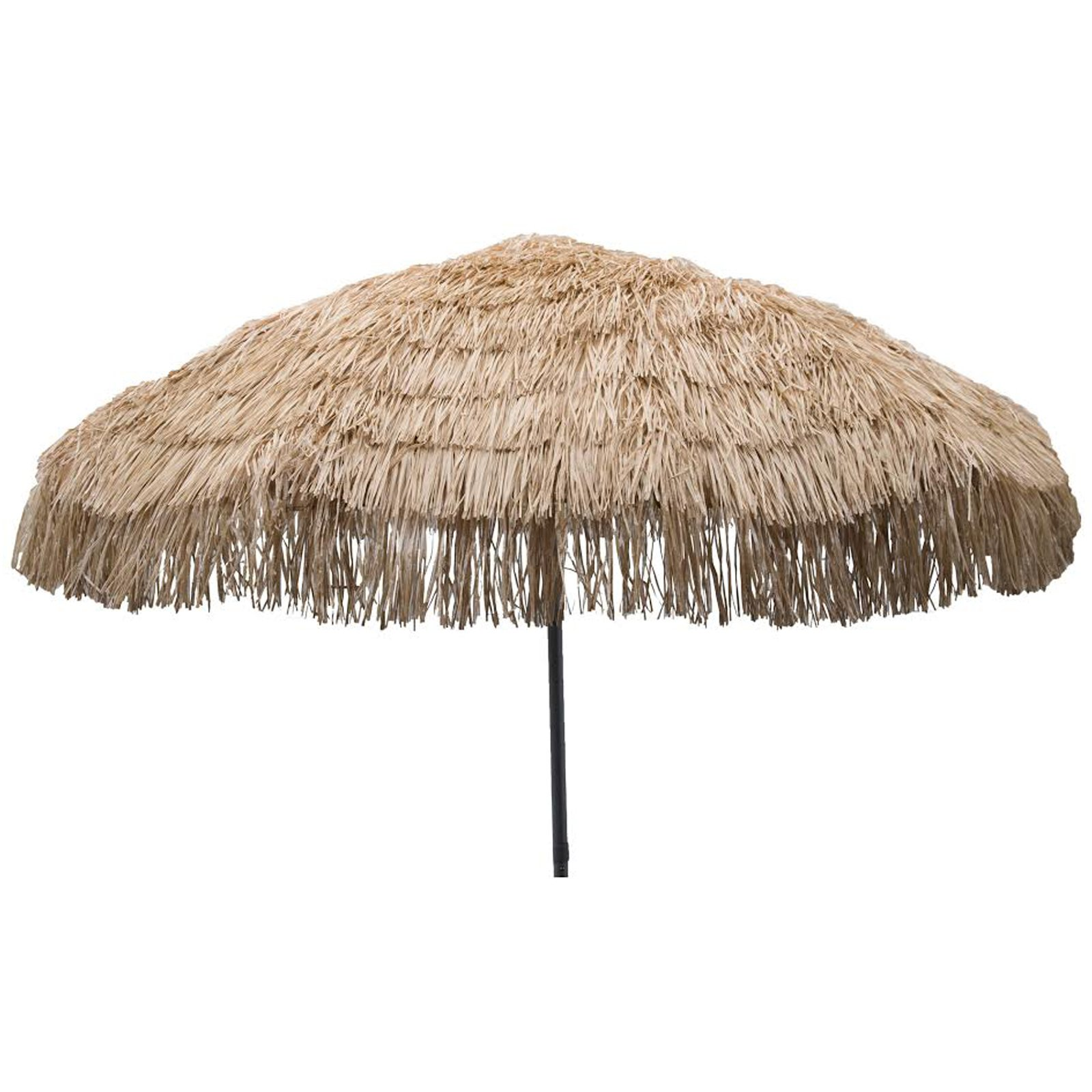 Palapa Tiki Push/Tilt Whiskey Umbrella 7.5 foot - Patio Pole