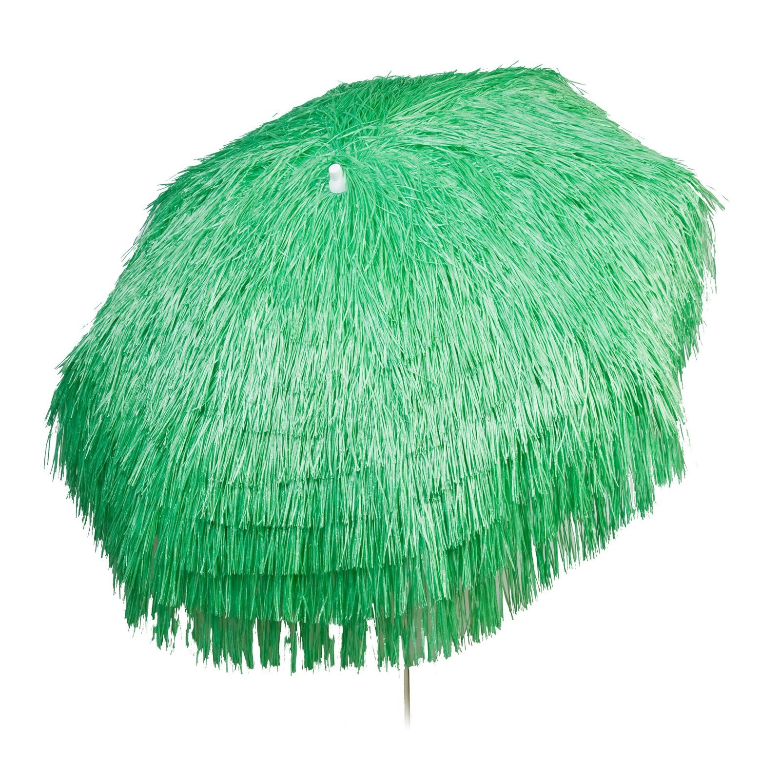 Palapa Tiki Push/Tilt Lime Umbrella 6 foot - Patio Pole