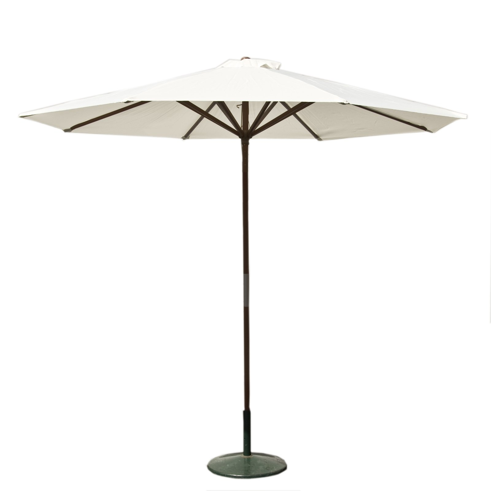 Classic Wood 9 foot Market Patio Umbrella - Natural