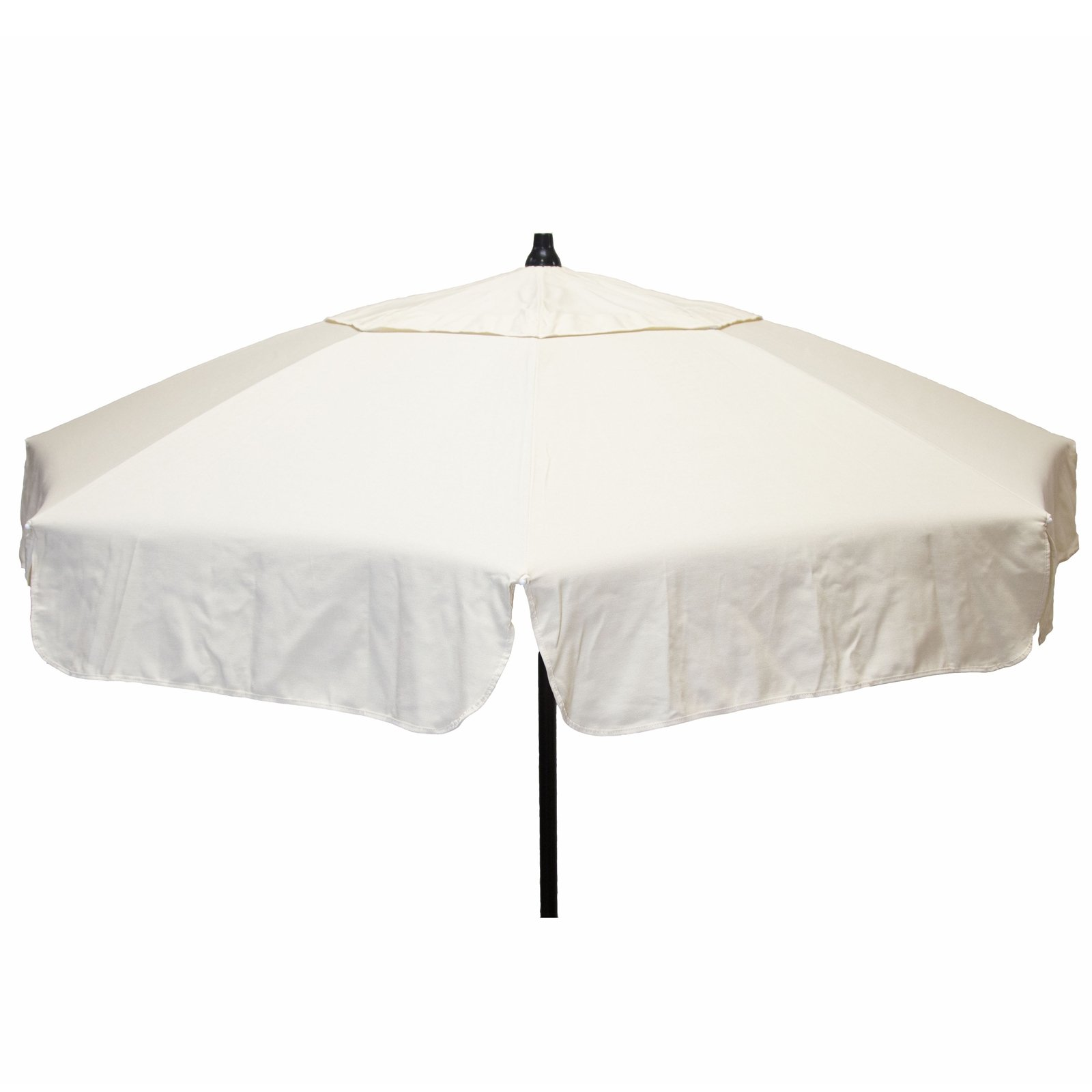 6ft Italian Market Tilt Umbrella Home Patio Sun Canopy Natural Beach Pole
