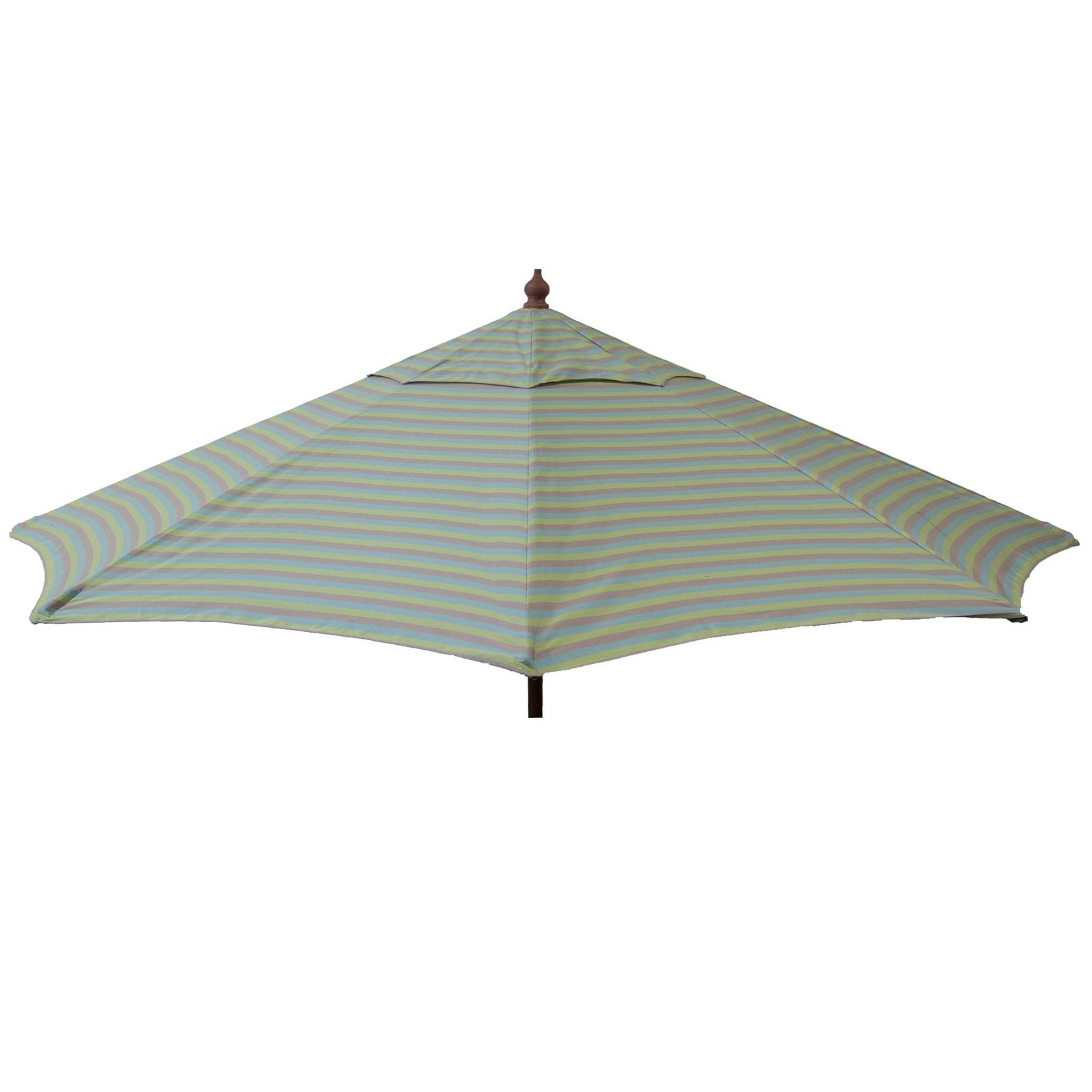 Destination Gear 9ft Italian Patio Umbrella - Blue Olive Taupe