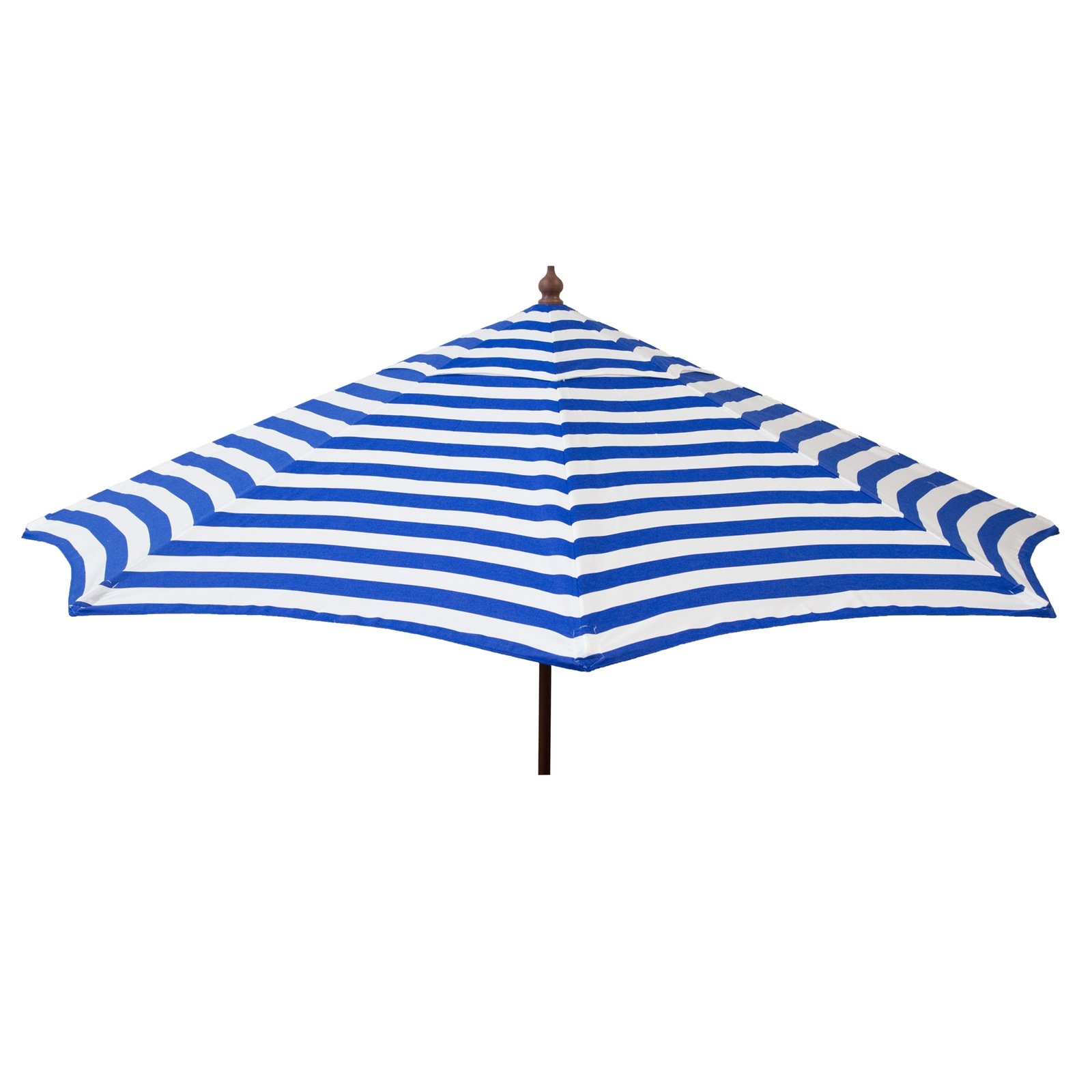 Destination Gear 9ft Italian Patio Umbrella - Blue and White