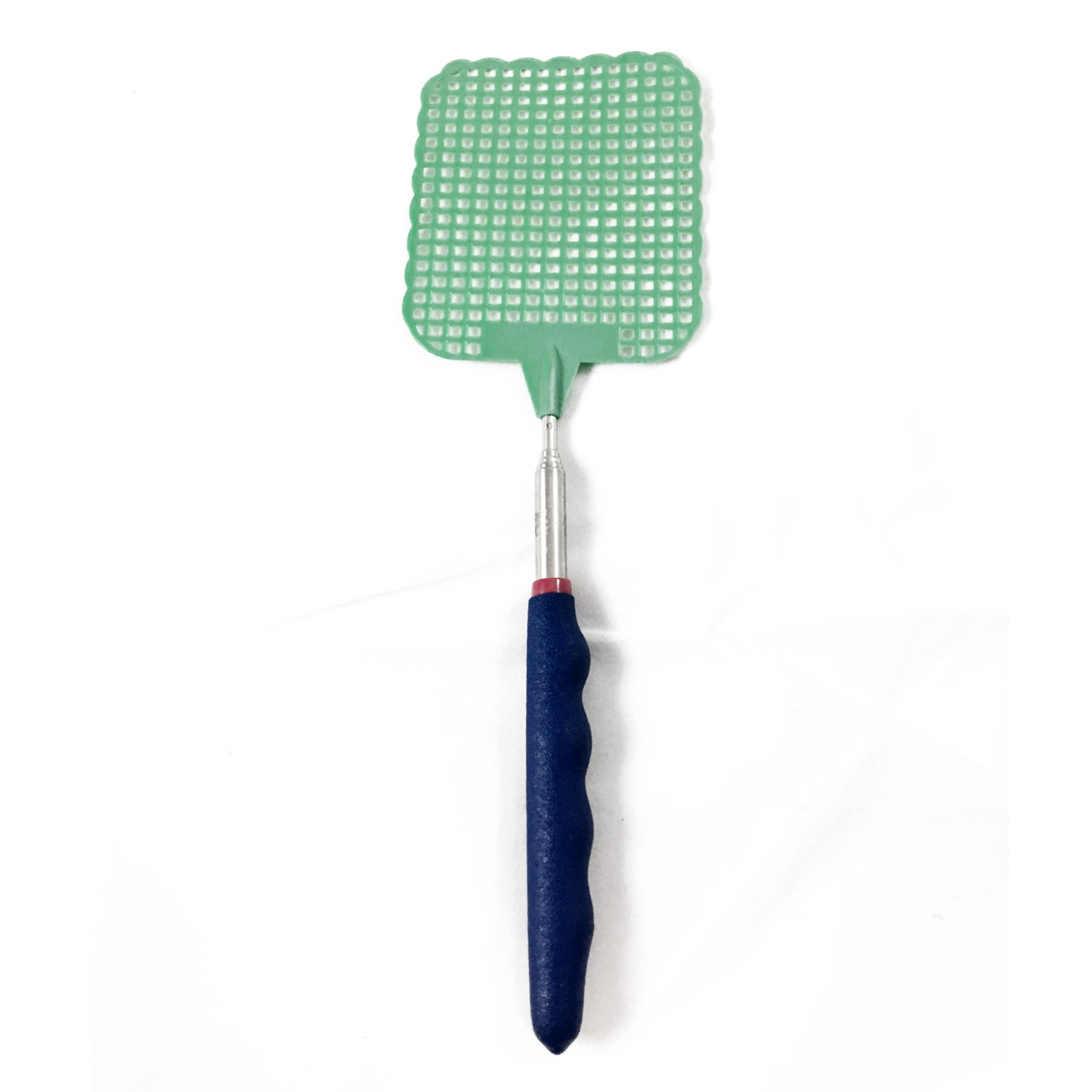 ASR Outdoor - Extendable Fly Swatter - Durable Telescopic Pole- Anti Slip- Green
