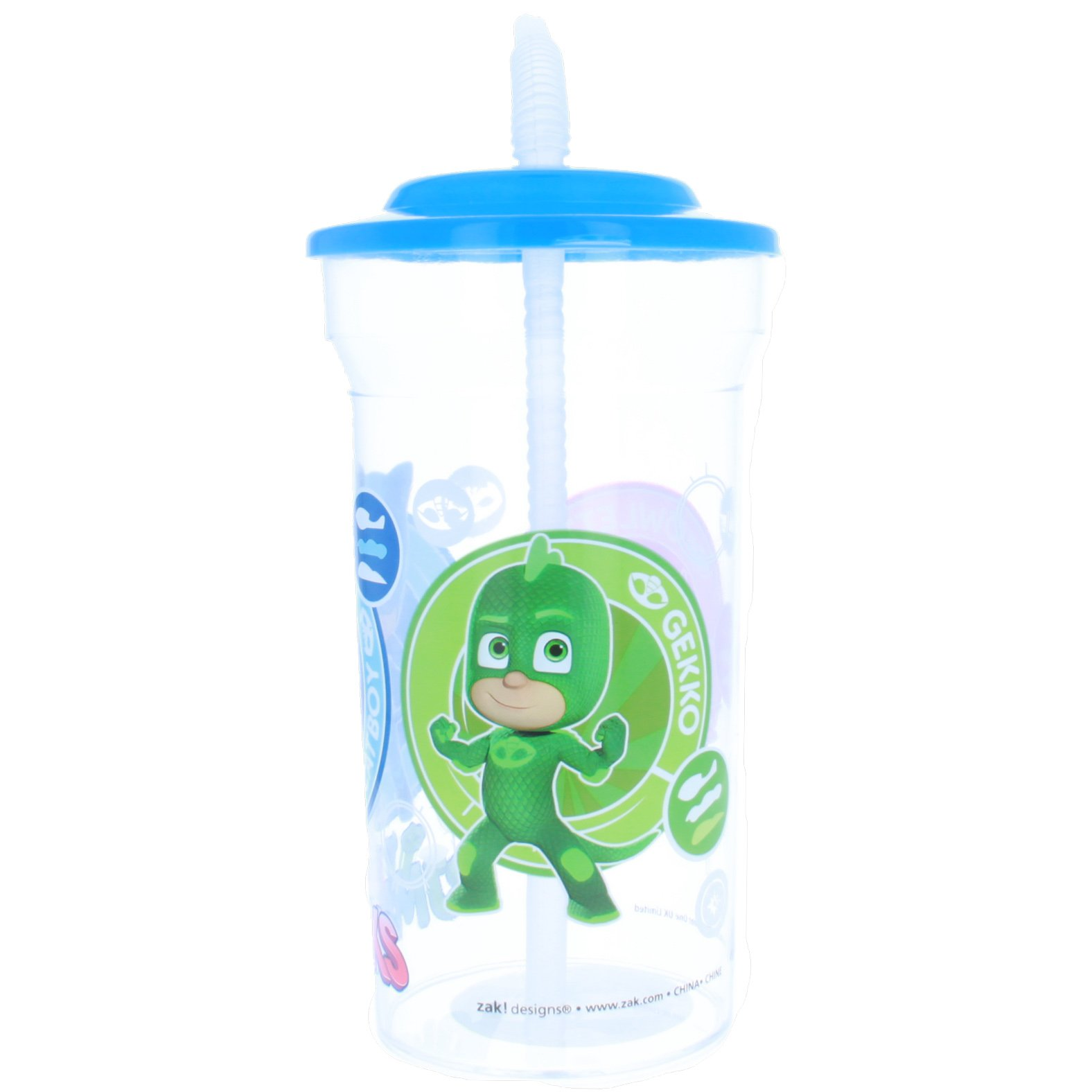 Kids PJ Mask 16oz Sports Drink Cup with Attached Straw Lid