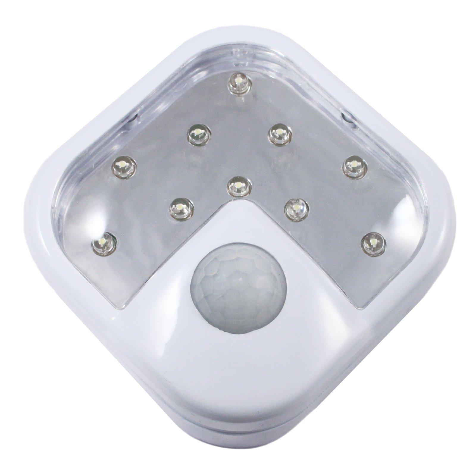 10 LED Wireless Motion Sensor Light Super Bright Security