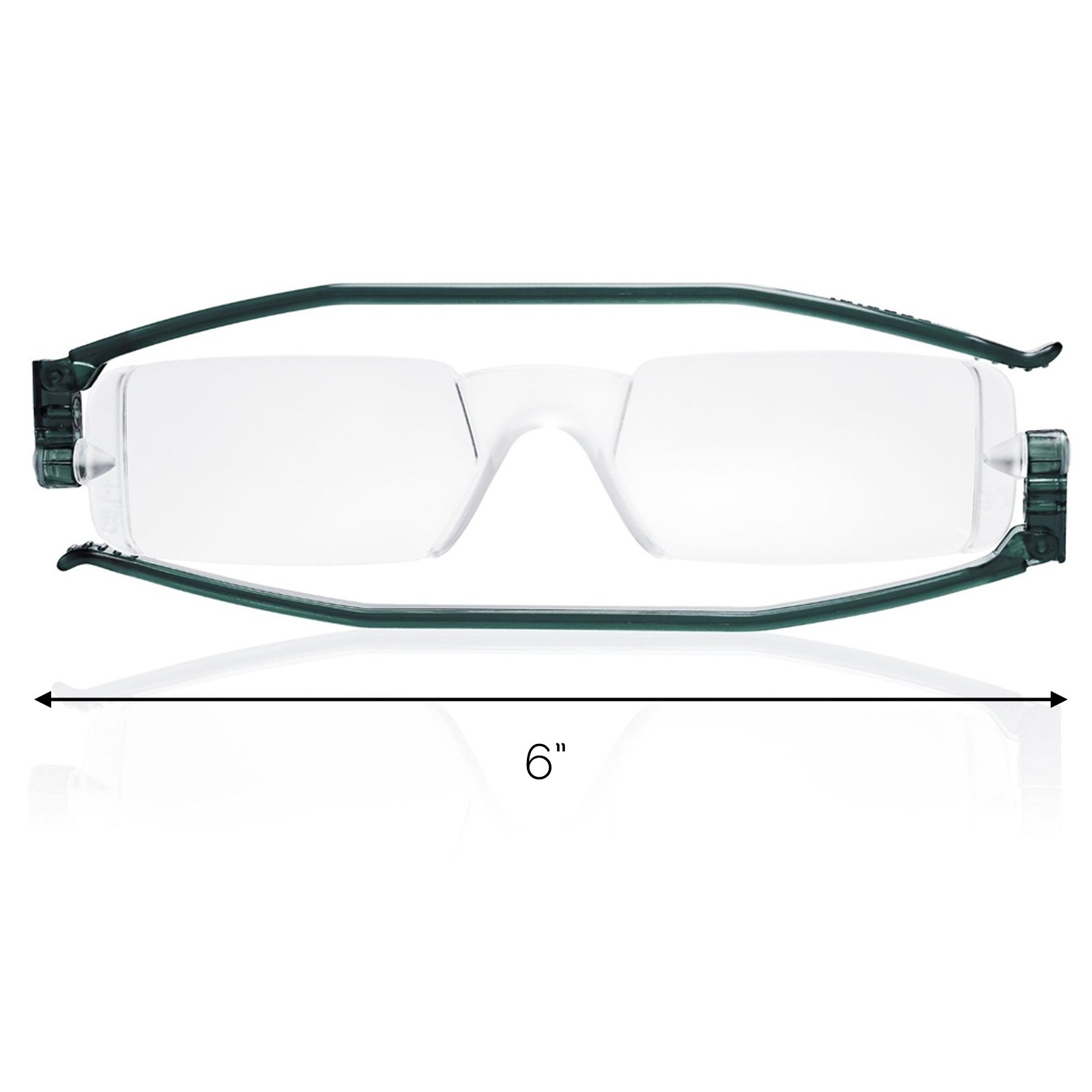 Reading Glasses Nannini Italy Vision Care Unisex Ultra Thin Readers - Grey 2.0
