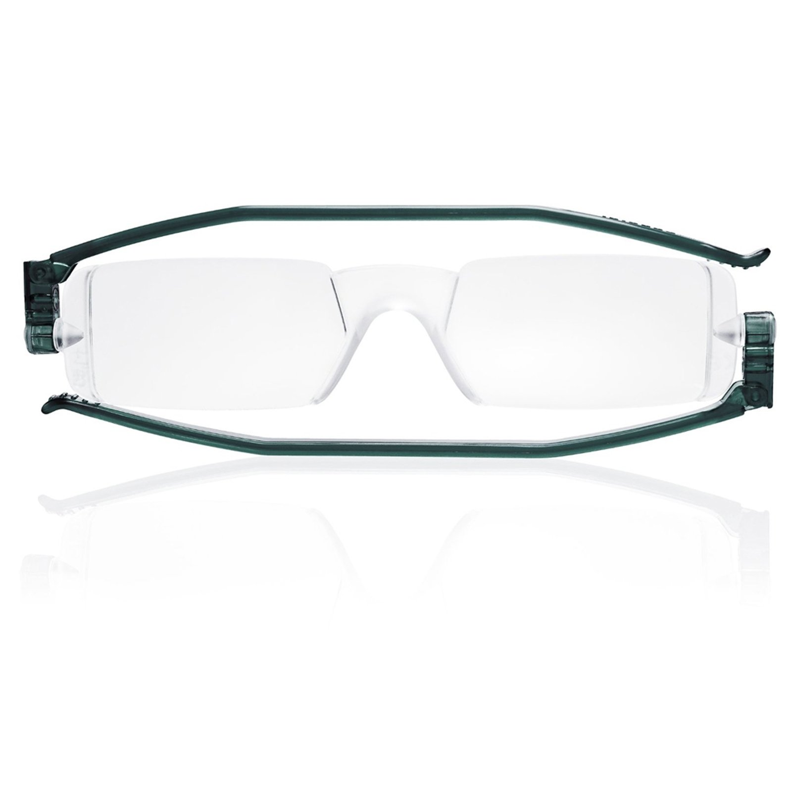Reading Glasses Nannini Italy Vision Care Unisex Ultra Thin Readers - Grey 1.5