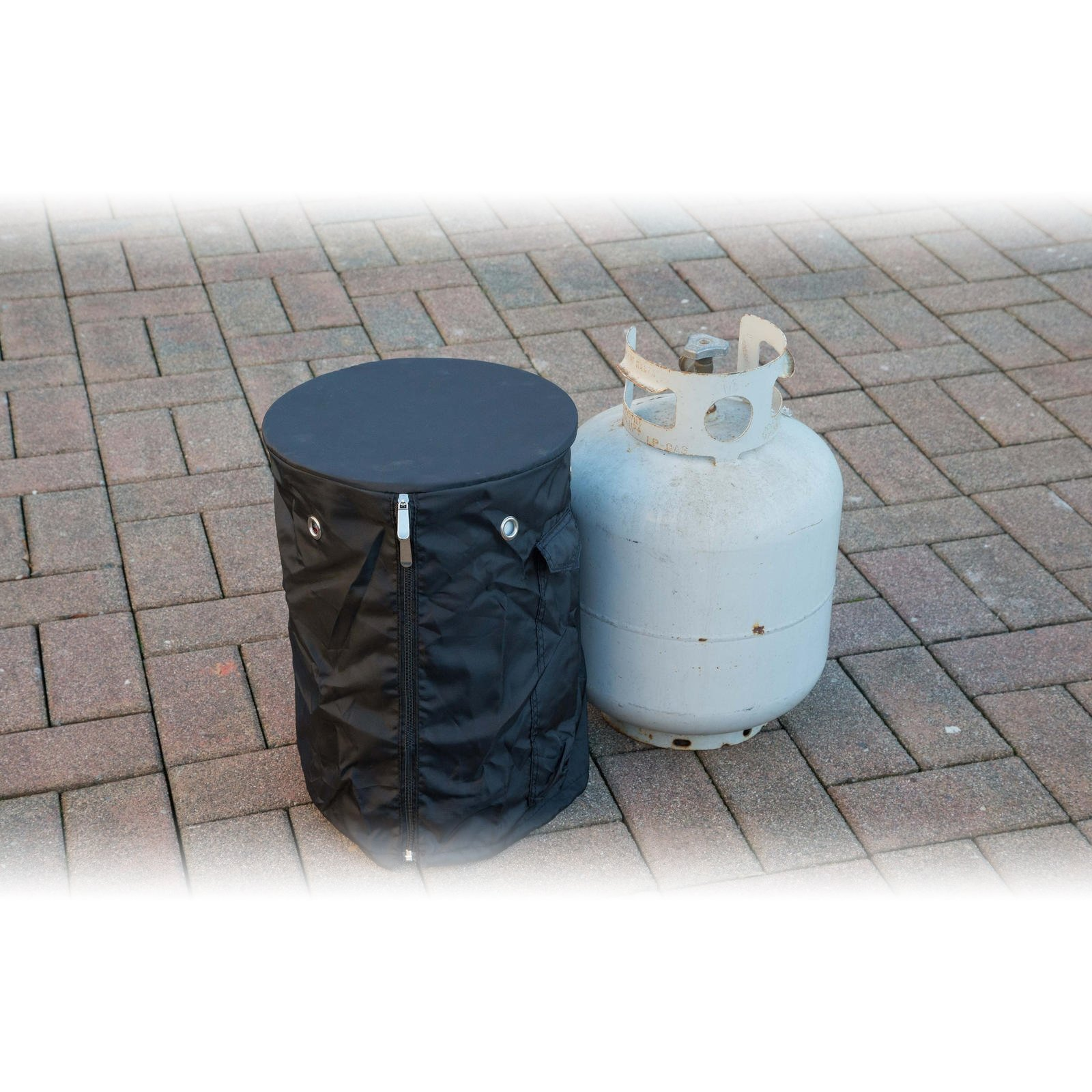 Heininger Destination Gear Propane Tank Cover for 20 lb Tank with Table Top