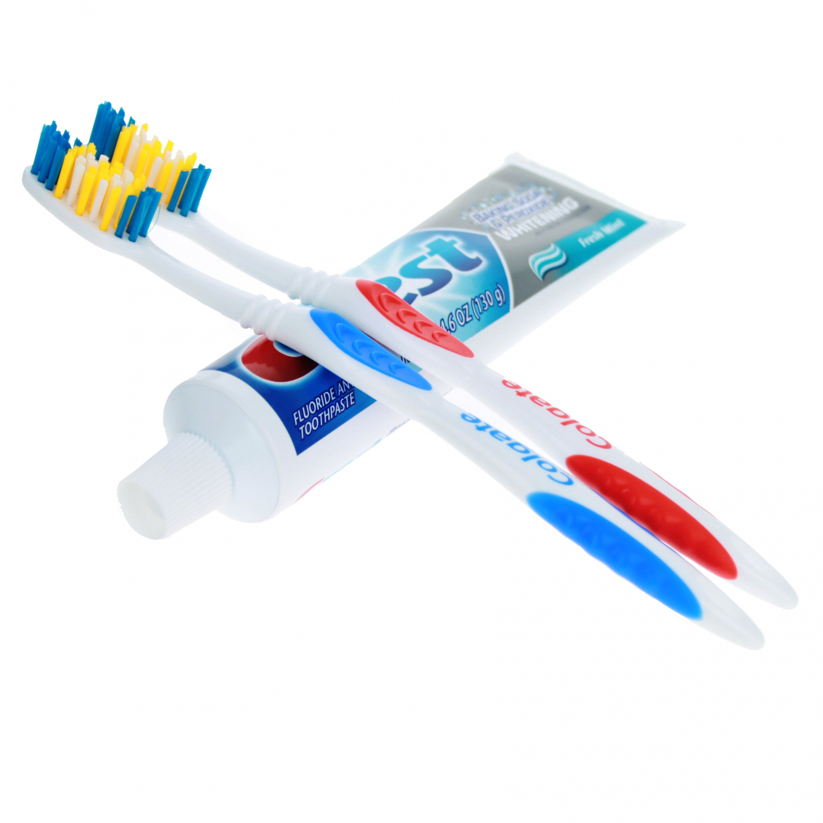 Home Essentials Oral Care Set Crest Toothpaste Toothbrushes