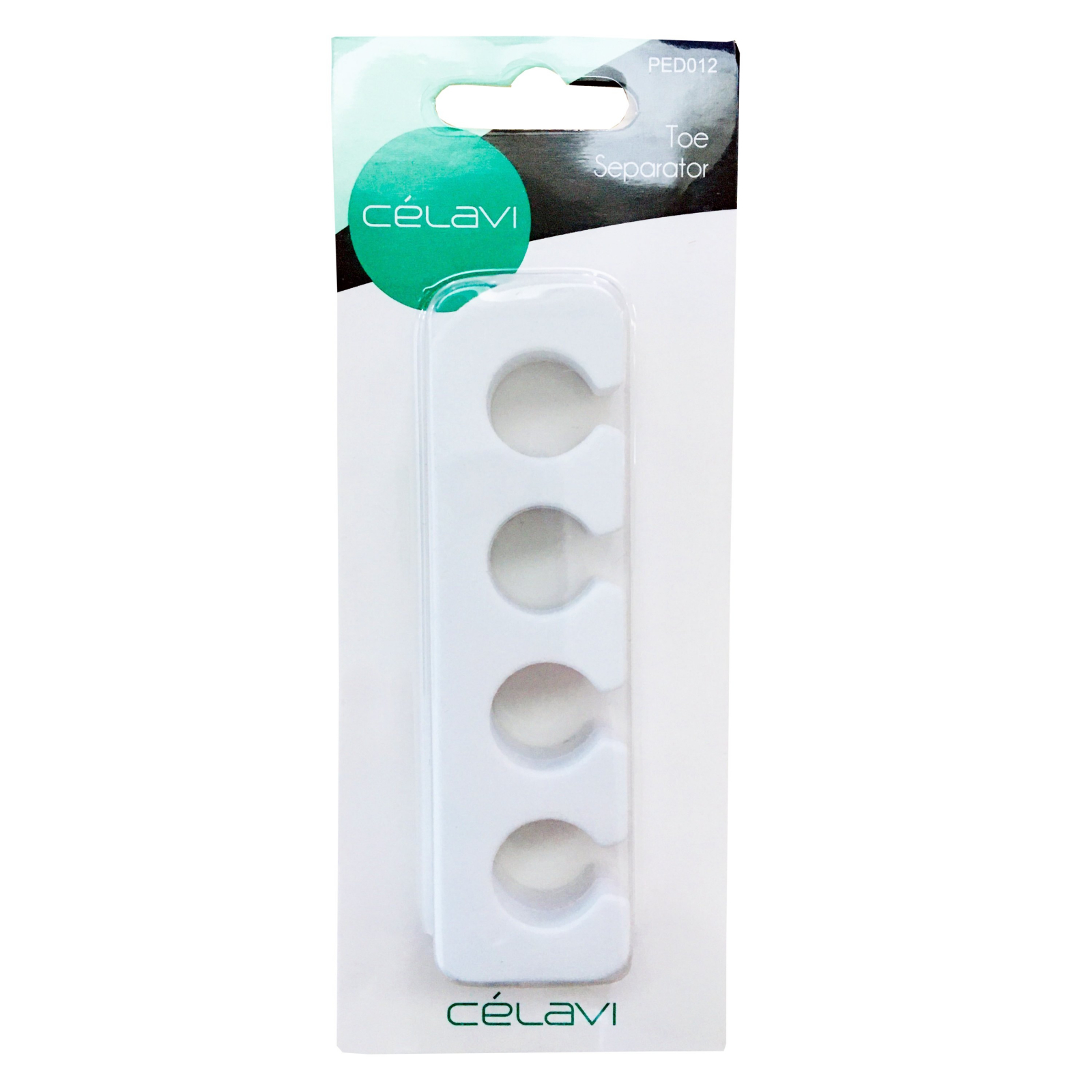 Professional Quality Soft Foam Toe Spacers 1 Pair - White