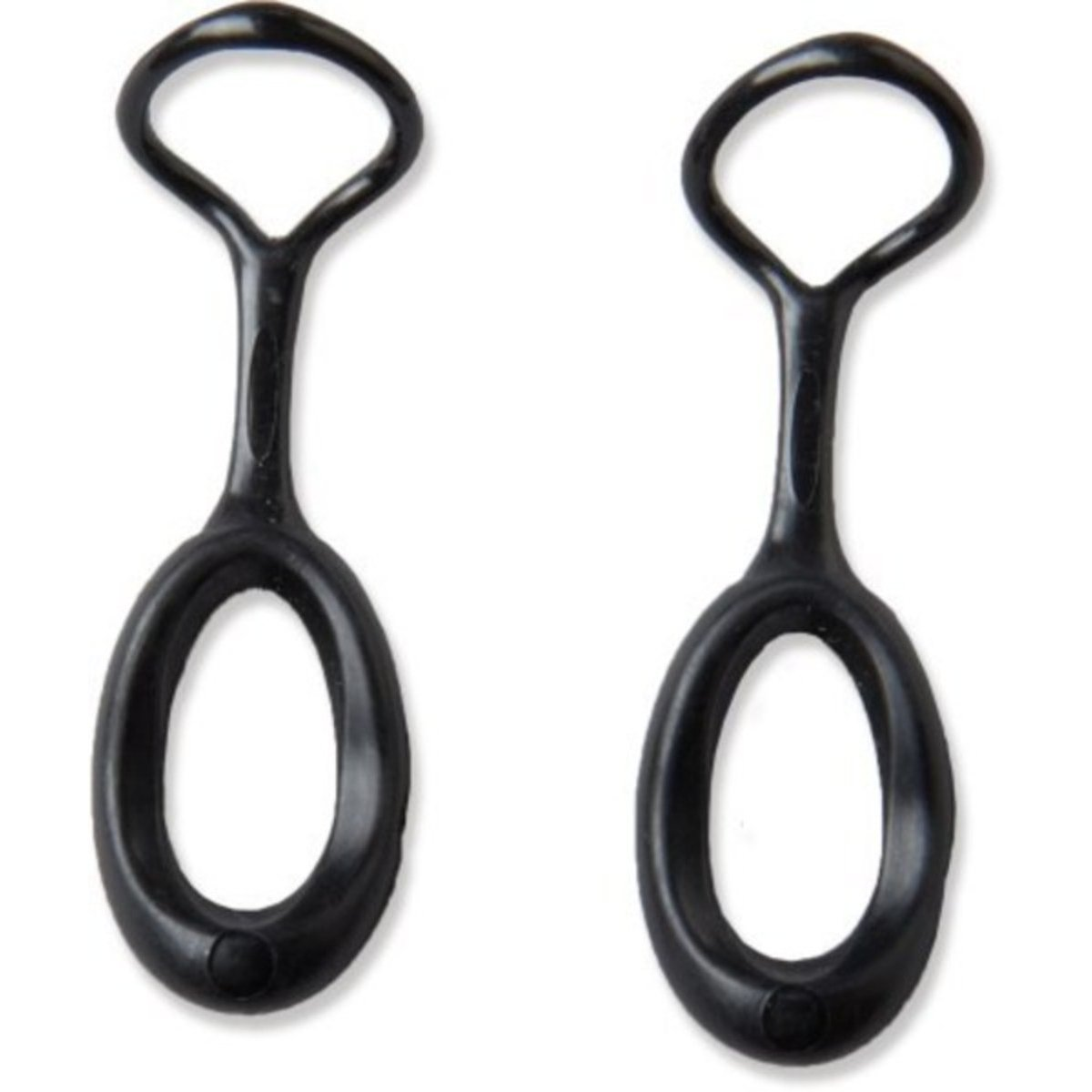 Gear Aid Ergo Zipper Pulls for Outdoor Packs Gear Repair Sporting Good - Black