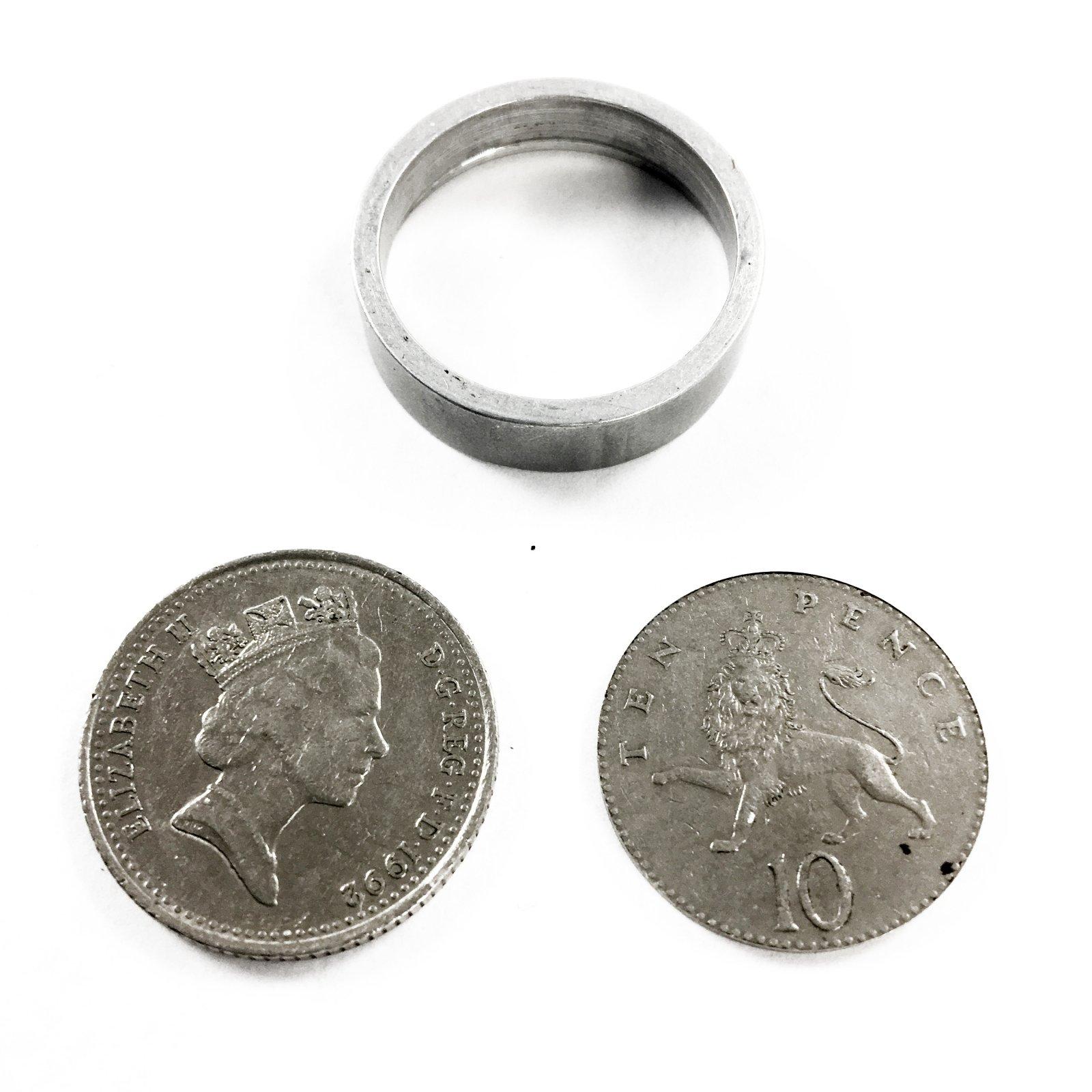 Covert Compartment 10c Australian Coin