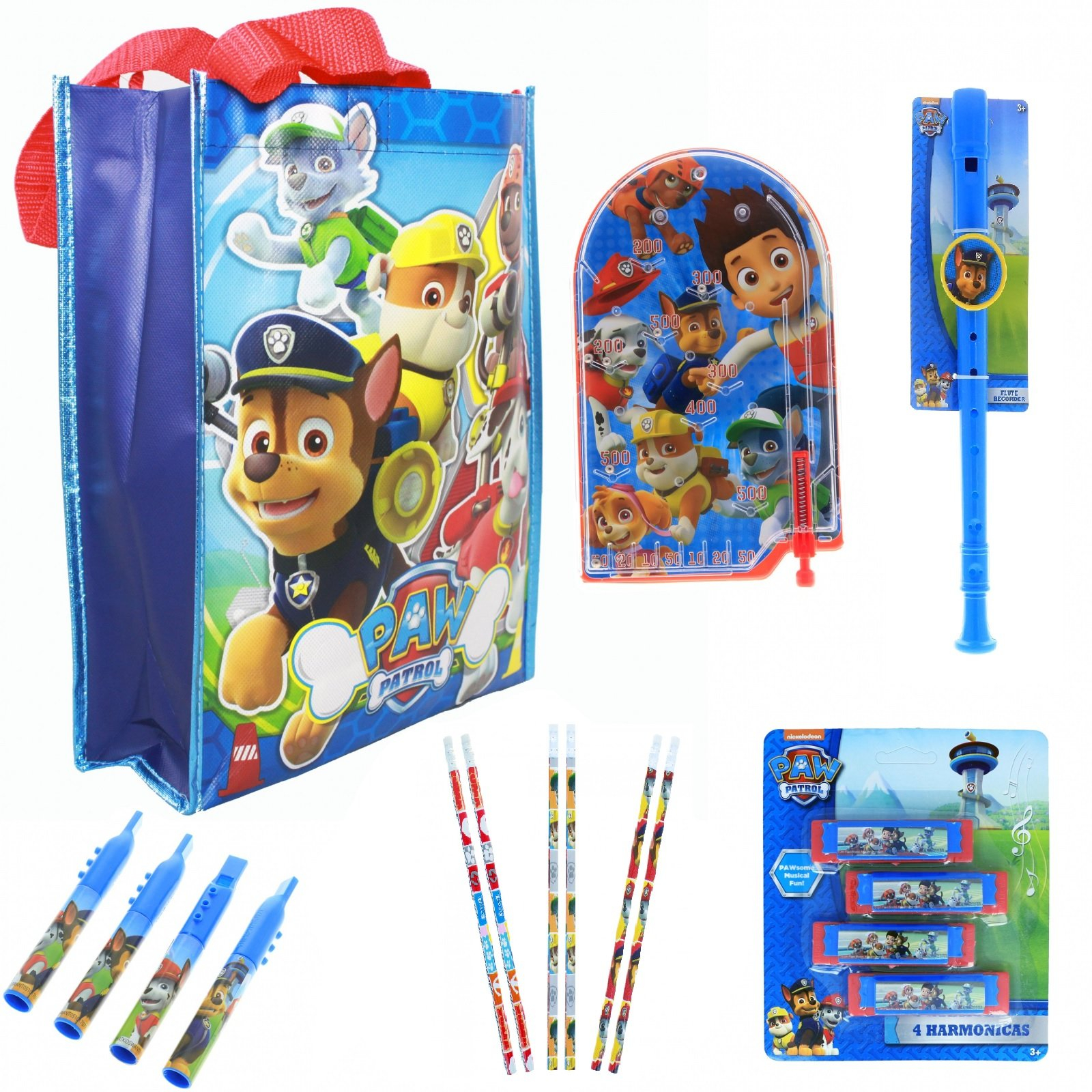 Easter Basket Paw Patrol Tote Bag Gift Set Fillers