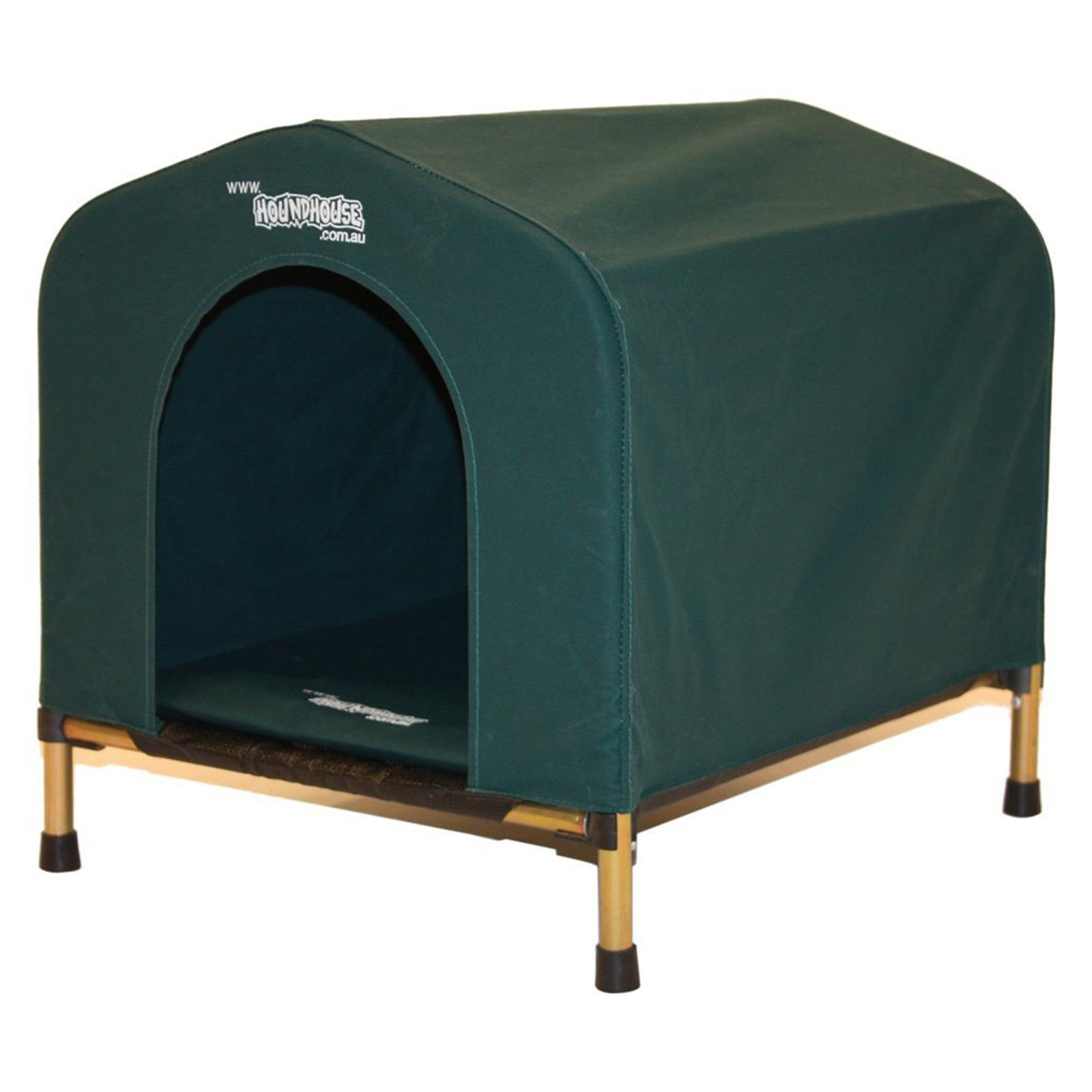 HoundHouse Portable Collapsable Pet Kennel Shelter Green - XLarge
