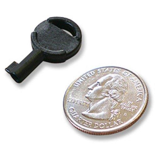 ASR Tactical Black Zipper Hidden Handcuff Key Non Metallic