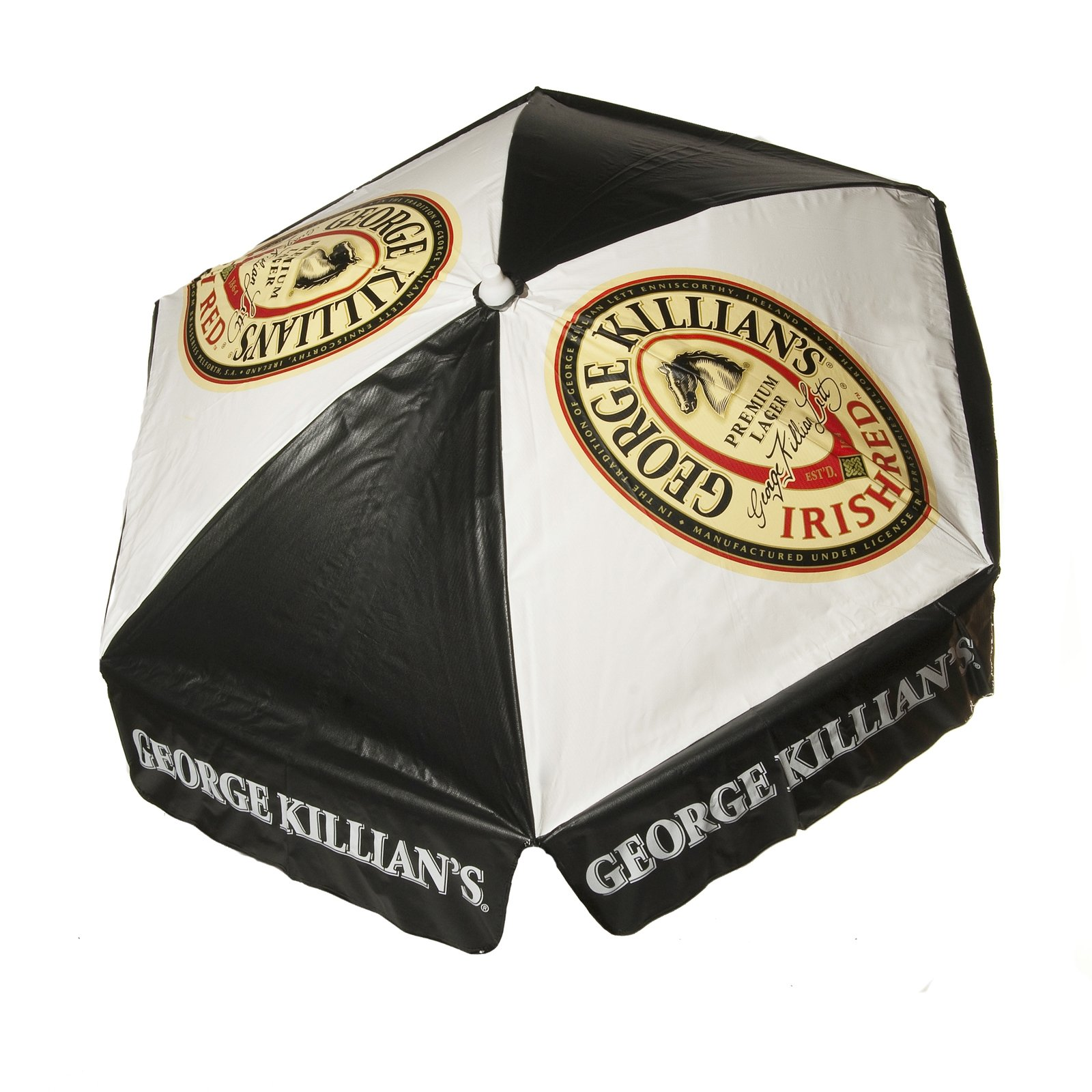 George Killians 6 ft Vinyl Umbrella - Beach Pole