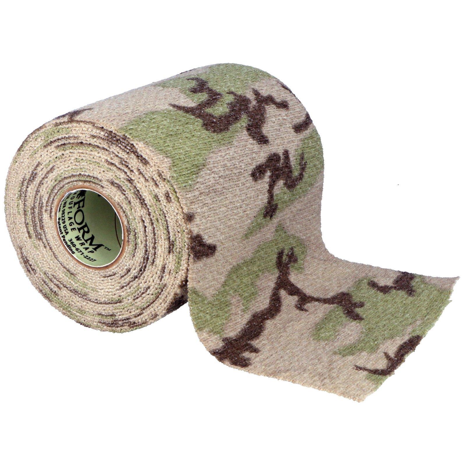 Gear Aid Camo Form Fabric Wrap - Desert Generic 4 Inch