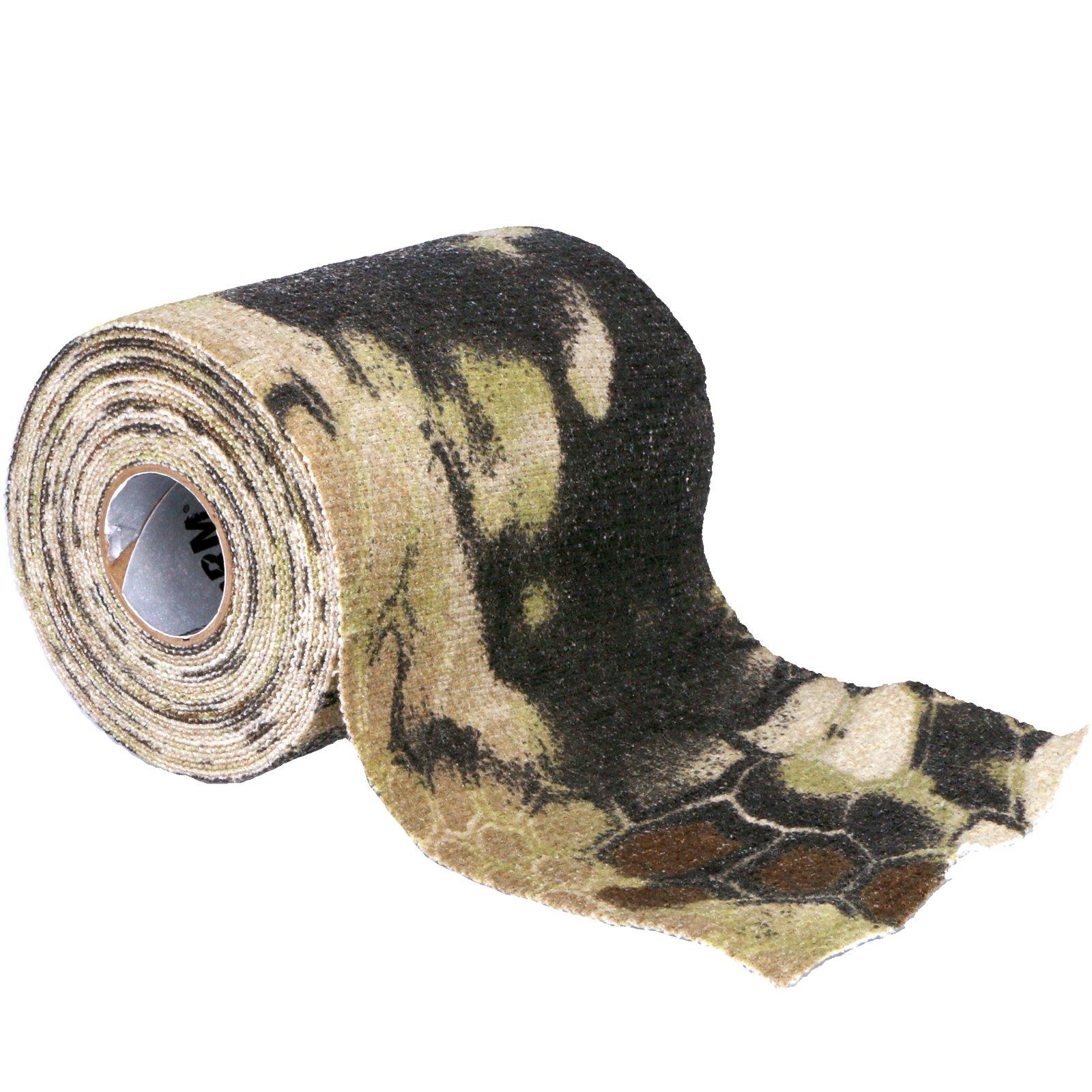 Gear Aid Camo Form Fabric Wrap Roll - Kryptek Highlander 4 Inch