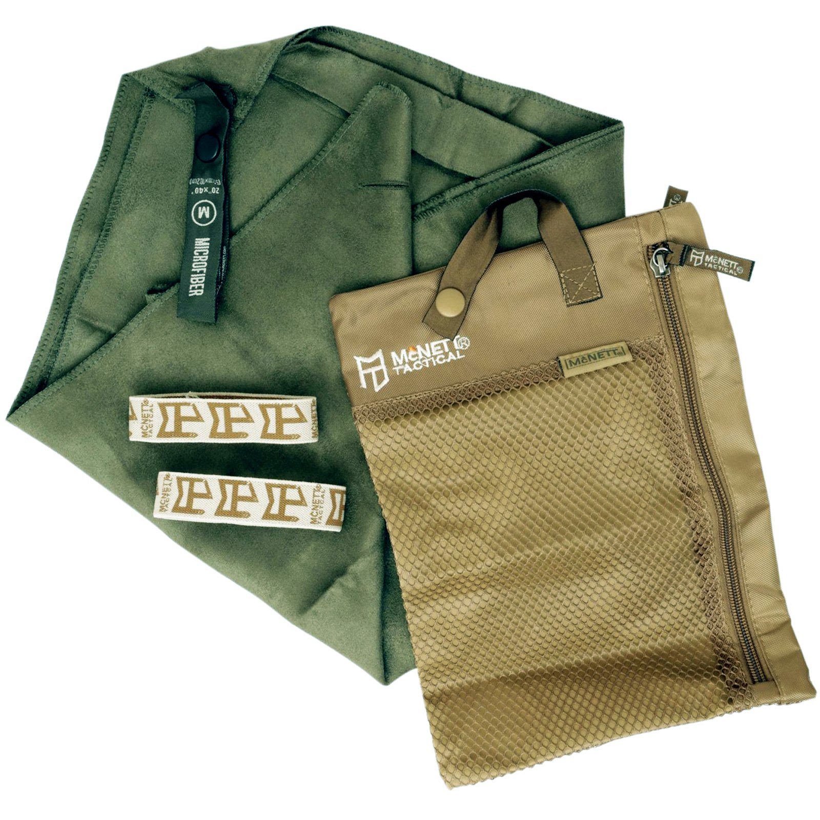 Universal Outdoor Ultra Absorbent Microfiber Towel Hiking - Tactical OD Green XL