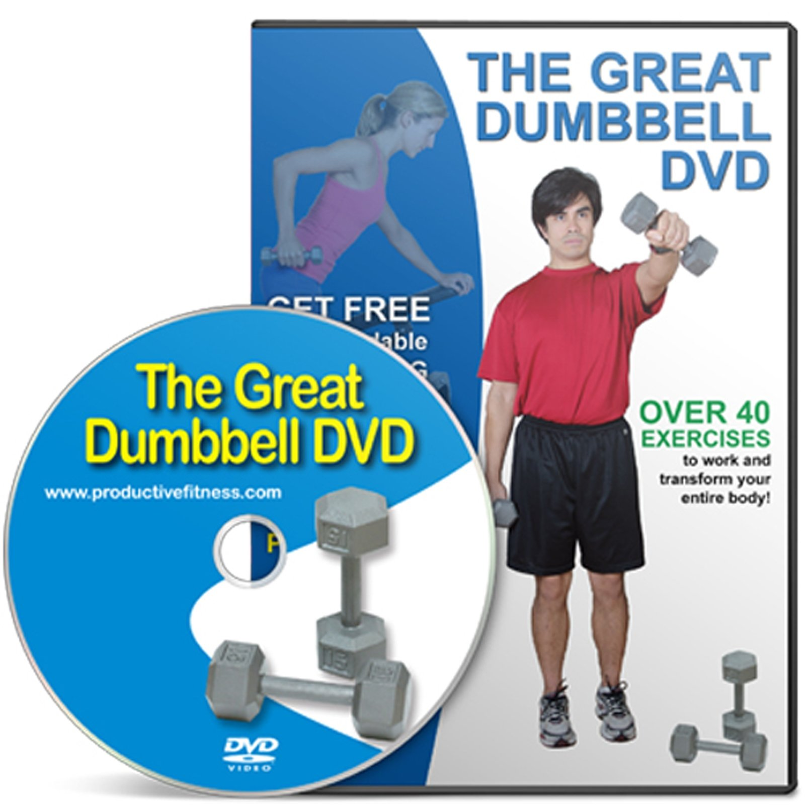 Productive Fitness Series The Great Dumbbell DVD At Home Exercises
