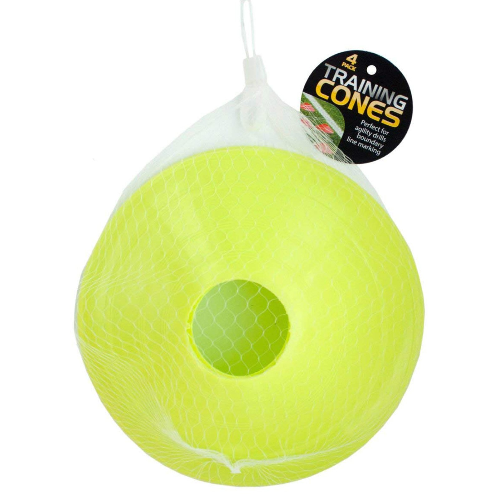 Universal Home Fitness 4 Pack Athletic Training Cones Players of All Levels